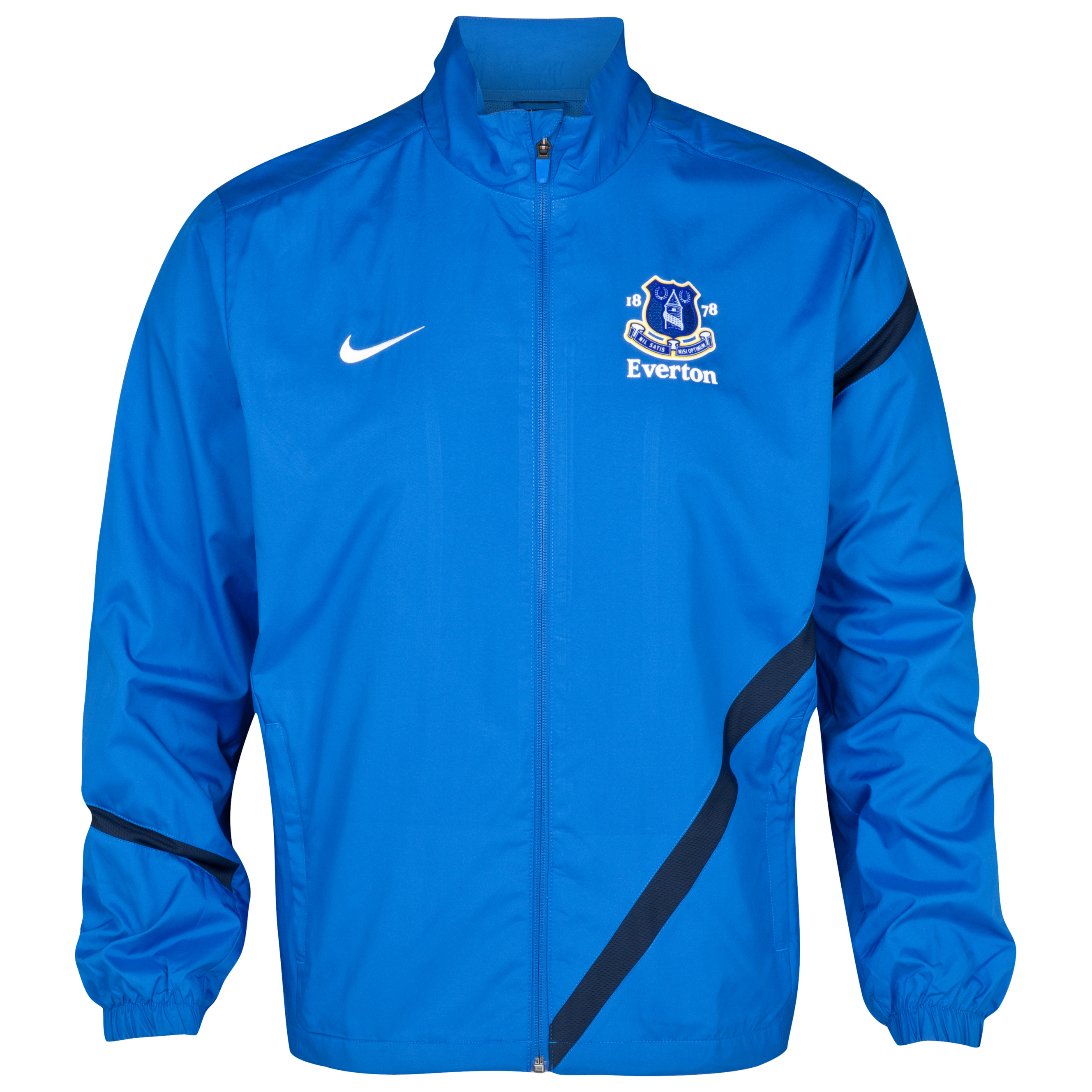 Everton Sideline Track Jacket - Royal Blue/Obsidian/White
