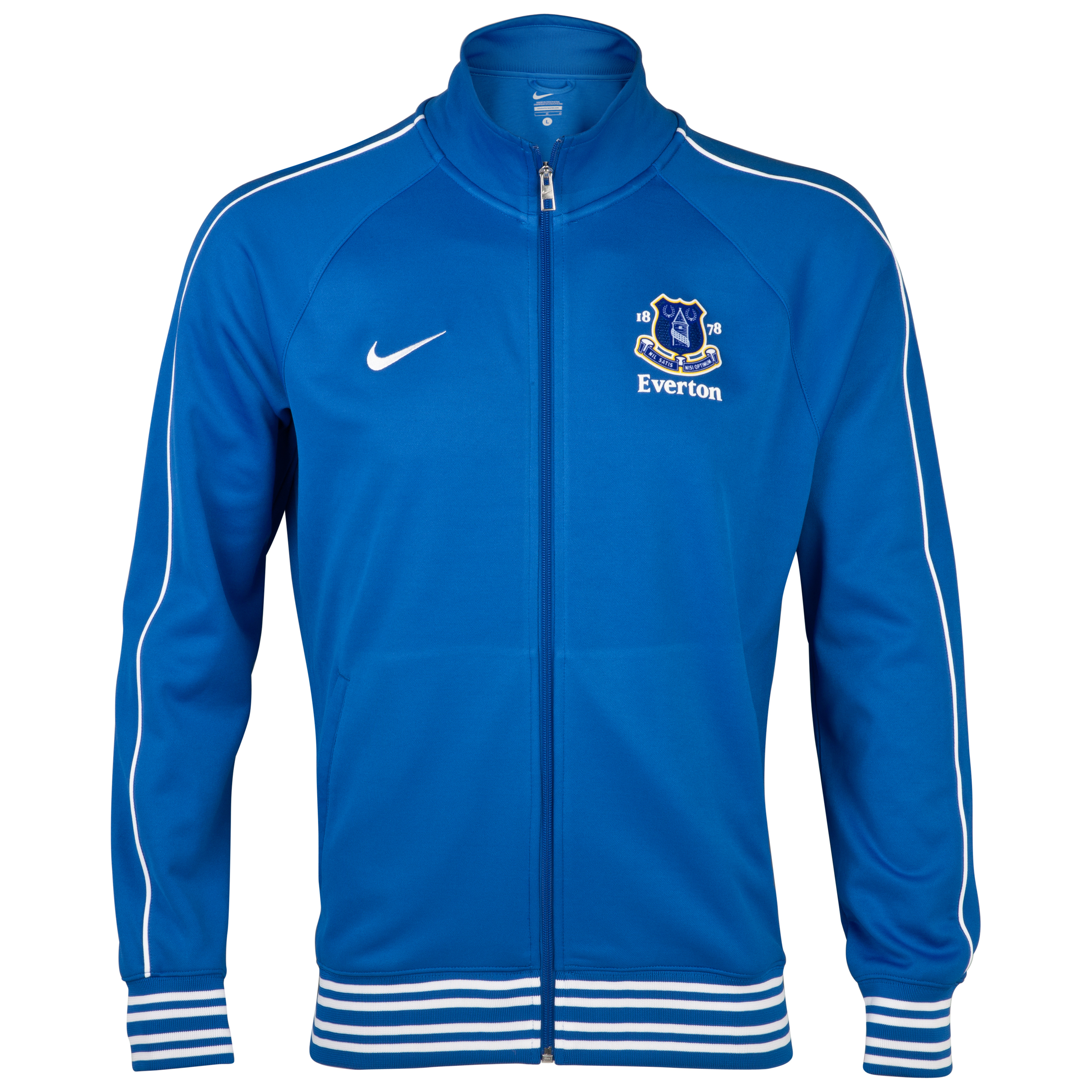 Everton Anthem Walk Out Jacket - Royal Blue/White