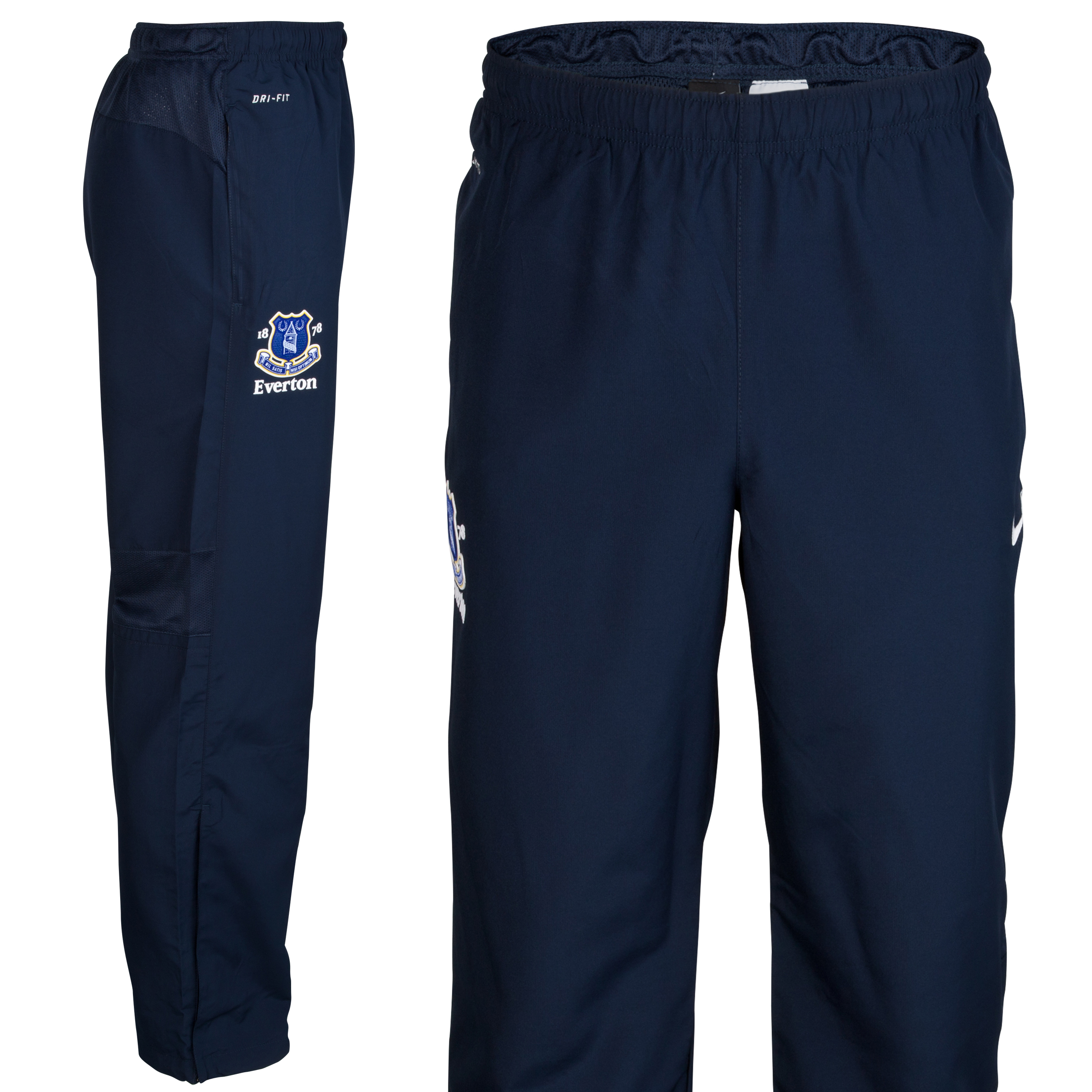 Everton Woven Track Pant - Junior - Obsidian/White