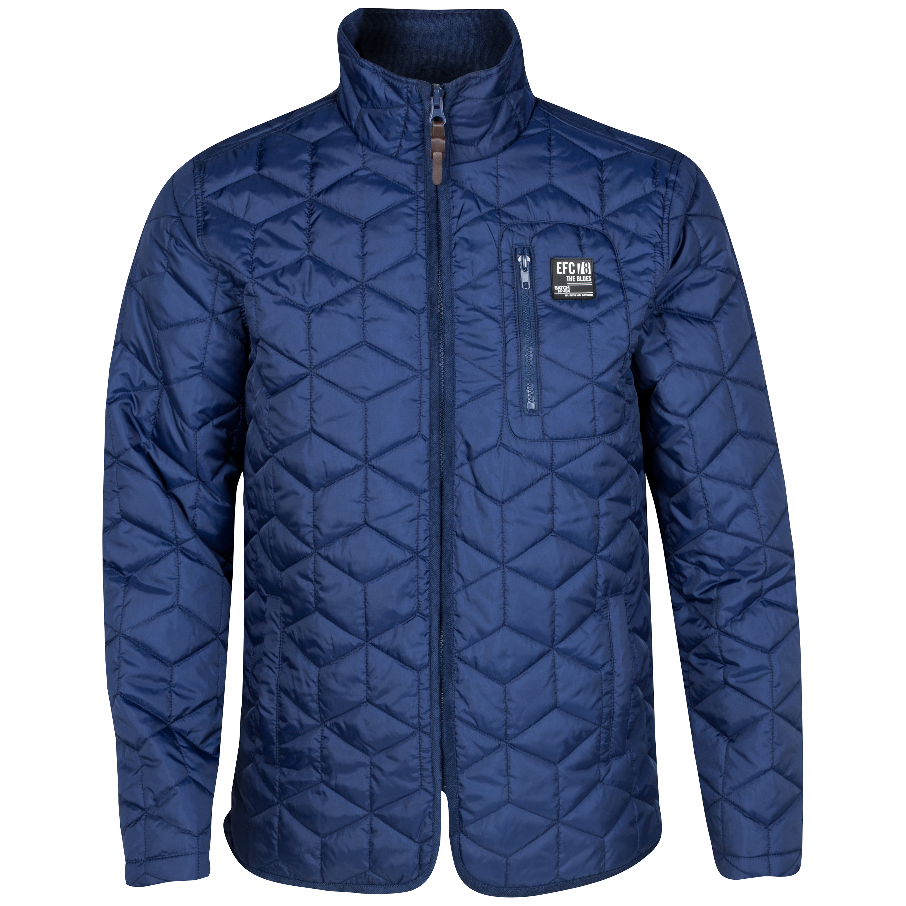 Everton Patchwork Jacket - Navy