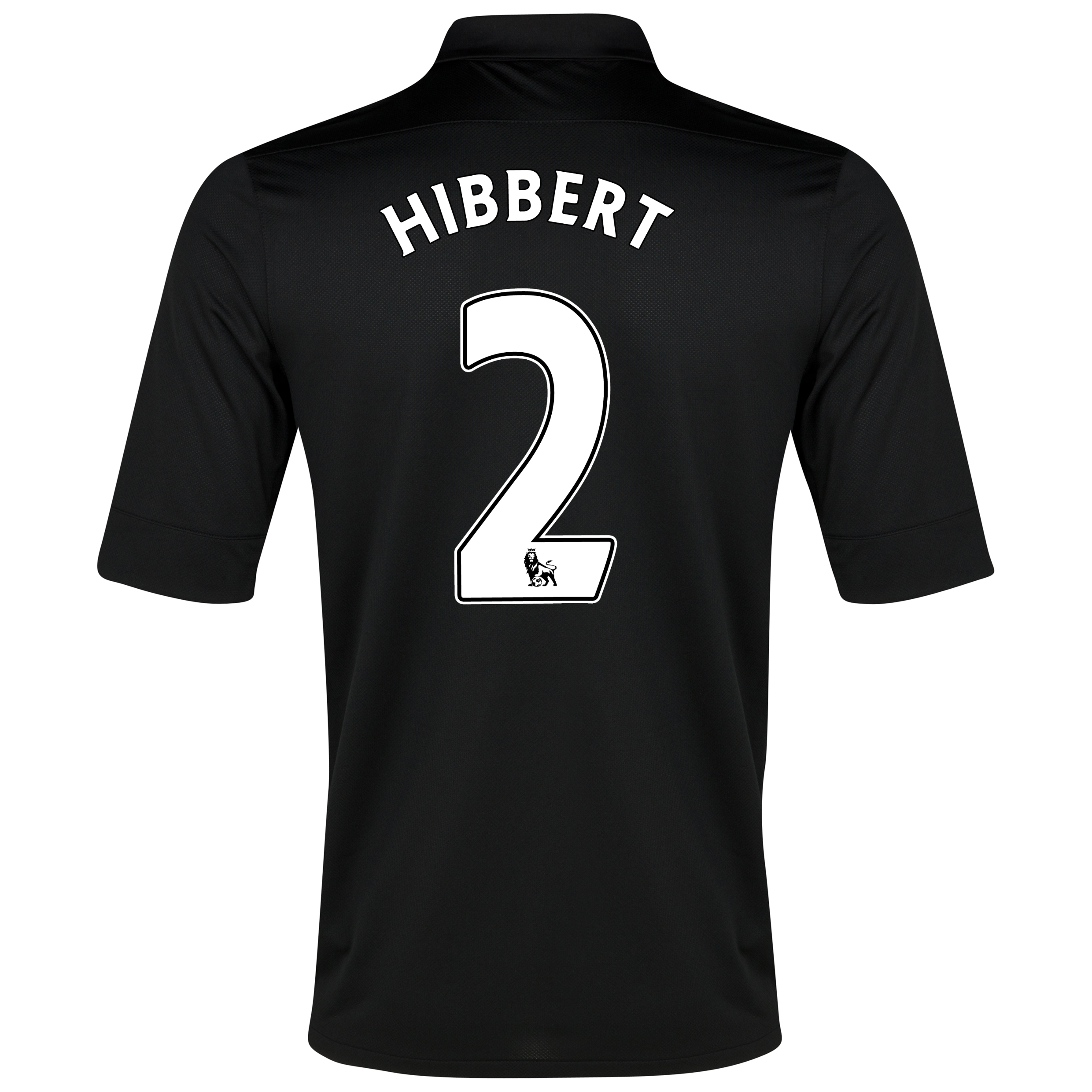 Everton Away Shirt 2012/13 with Hibbert 2 printing
