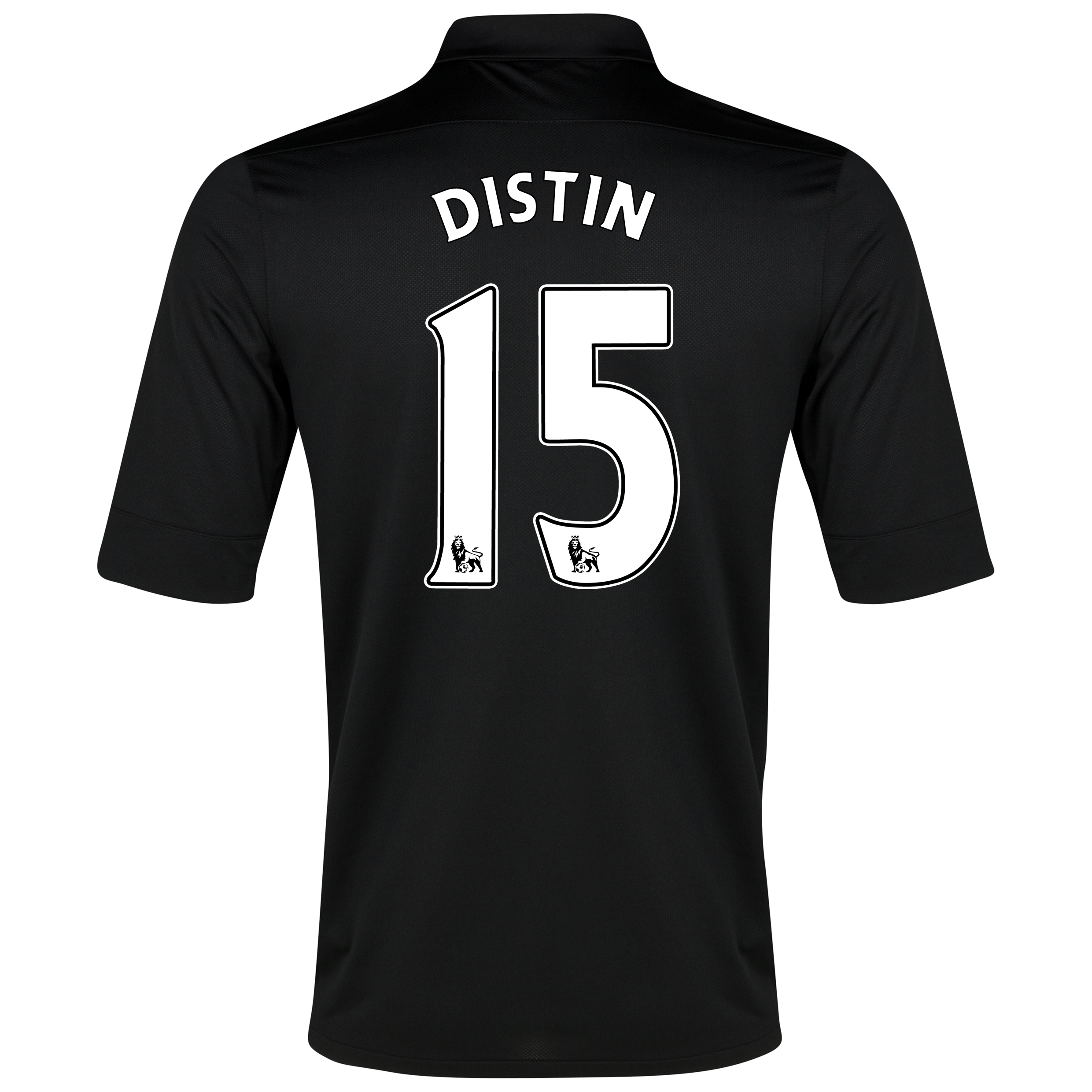 Everton Away Shirt 2012/13 with Distin 15 printing