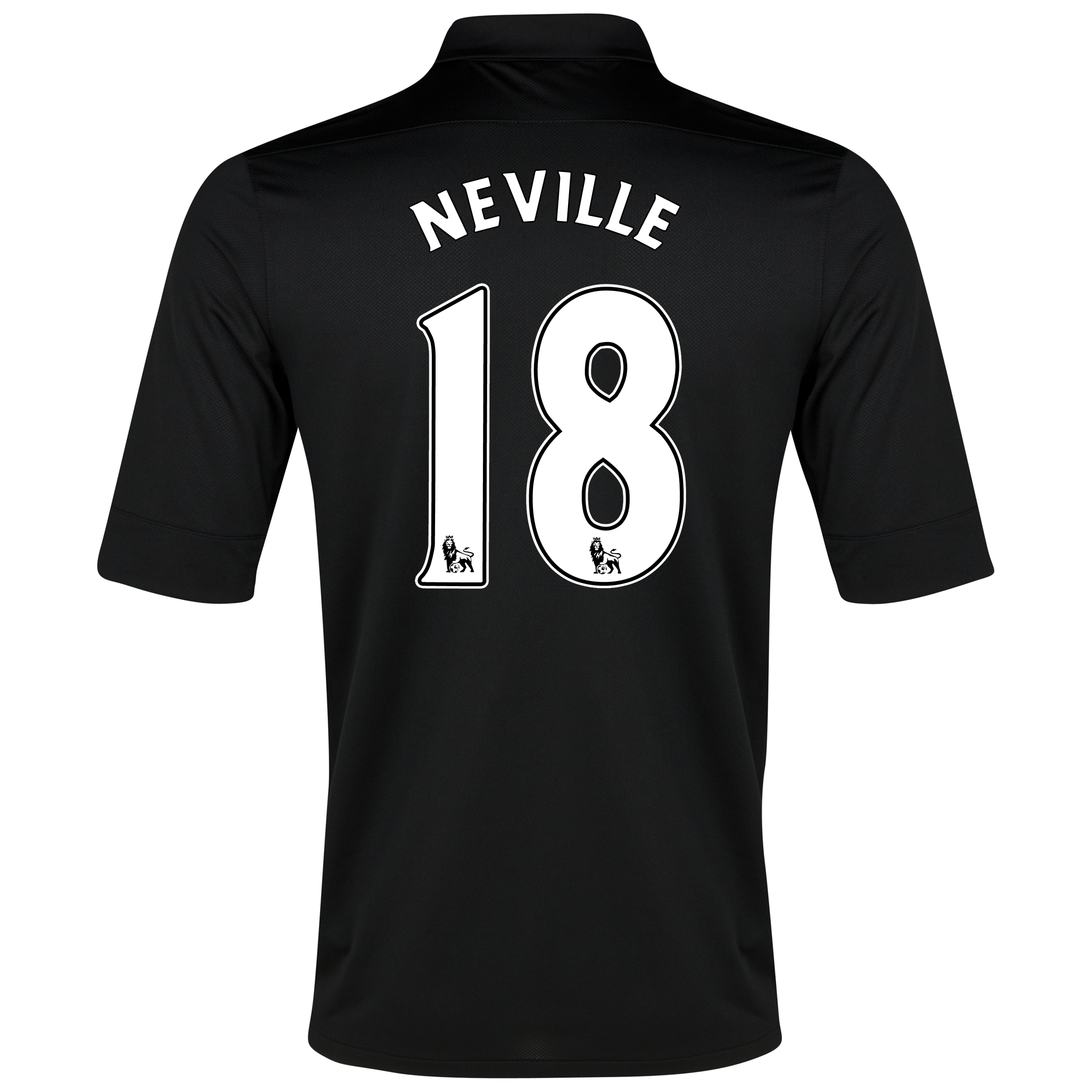 Everton Away Shirt 2012/13 with Neville 18 printing