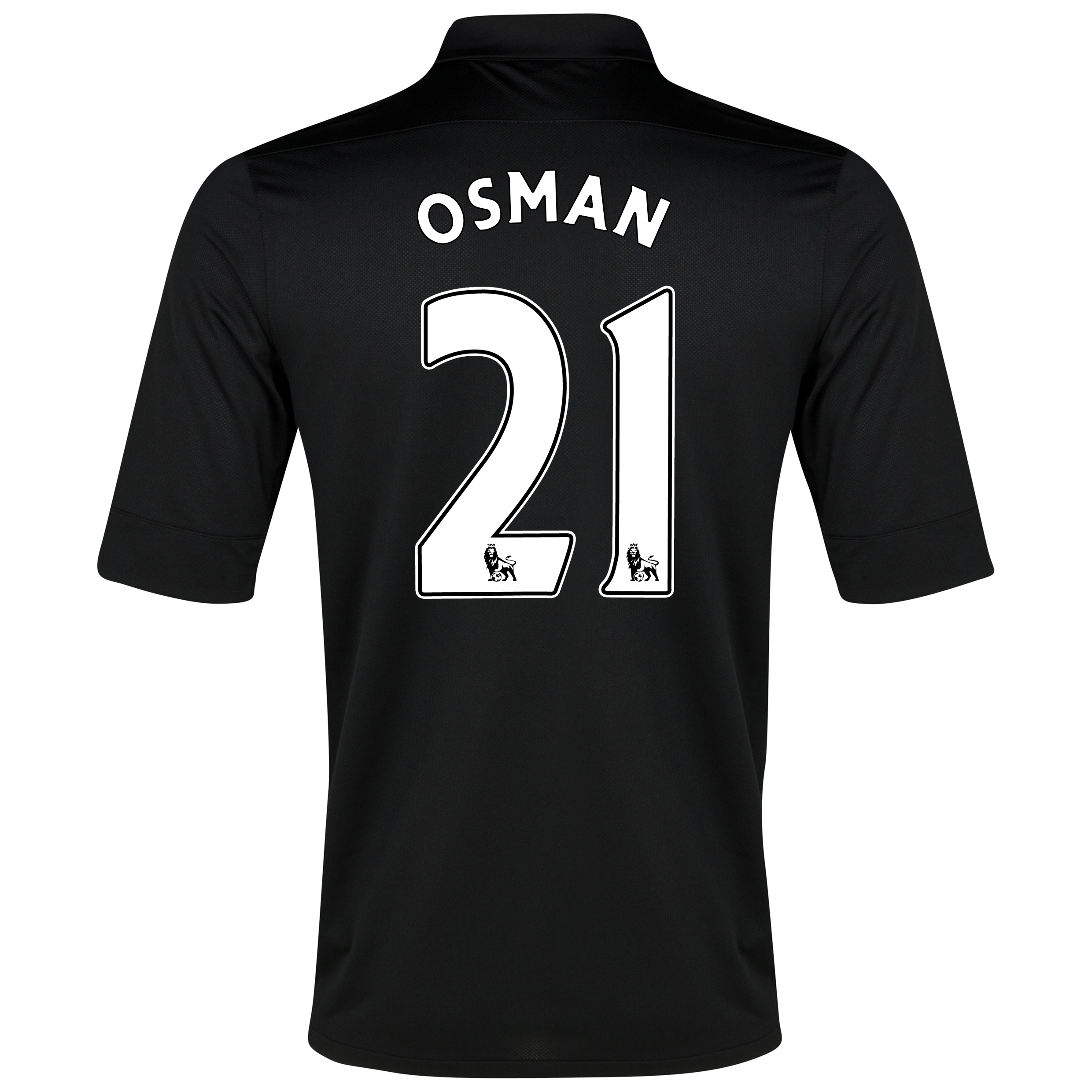 Everton Away Shirt 2012/13 with Osman 21 printing