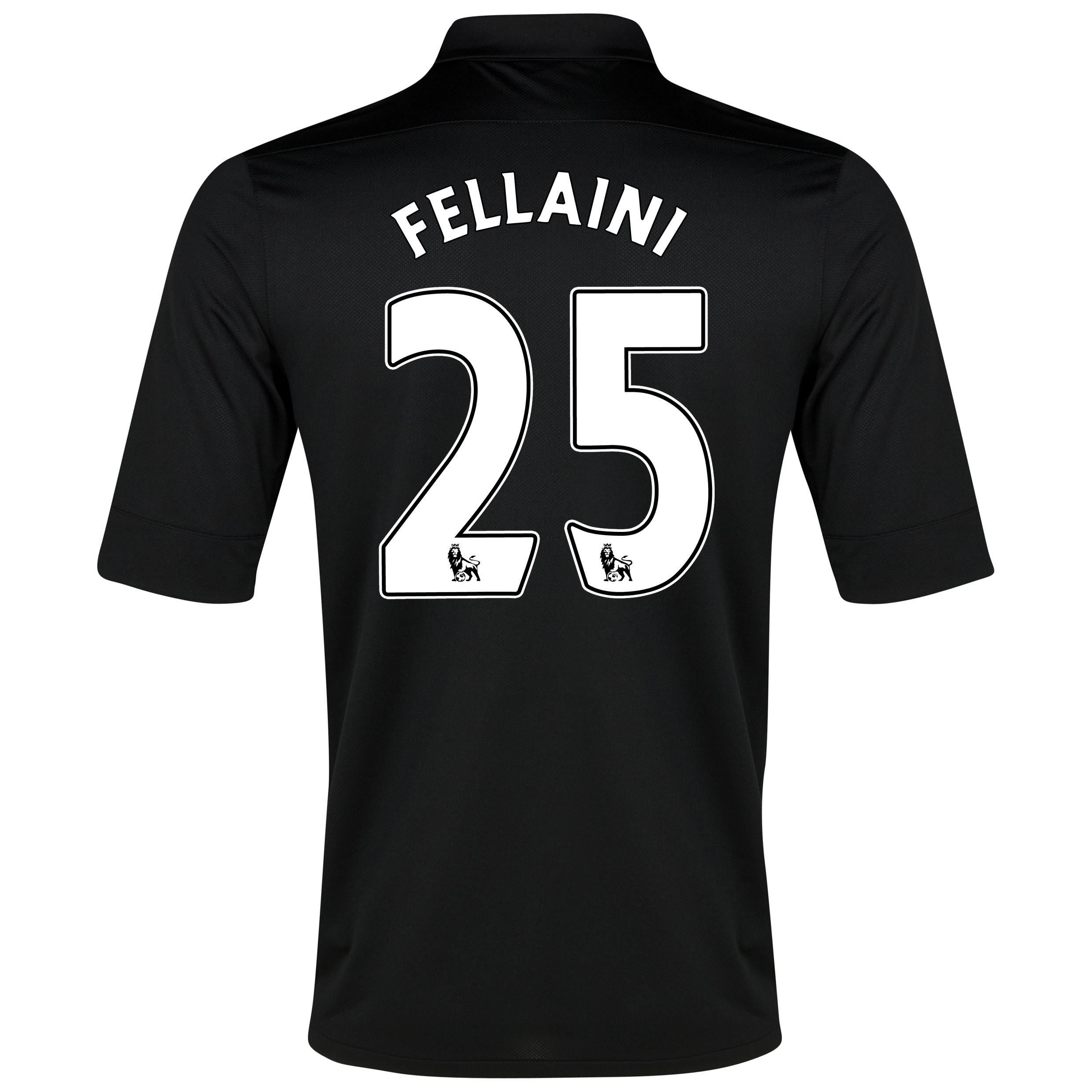 Everton Away Shirt 2012/13 with Fellaini 25 printing