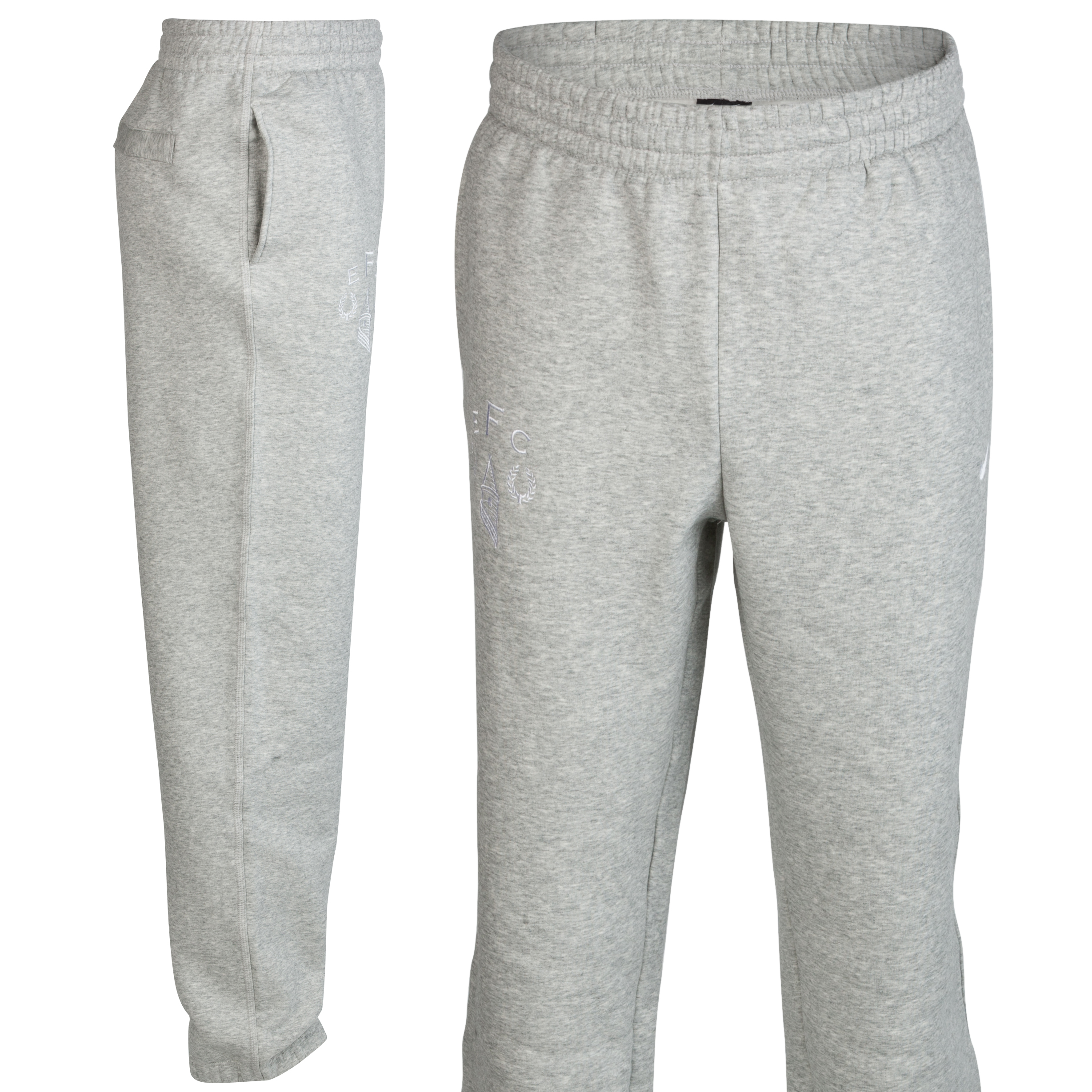 Everton Heritage Fleece Pant - Junior - Grey Heather/White