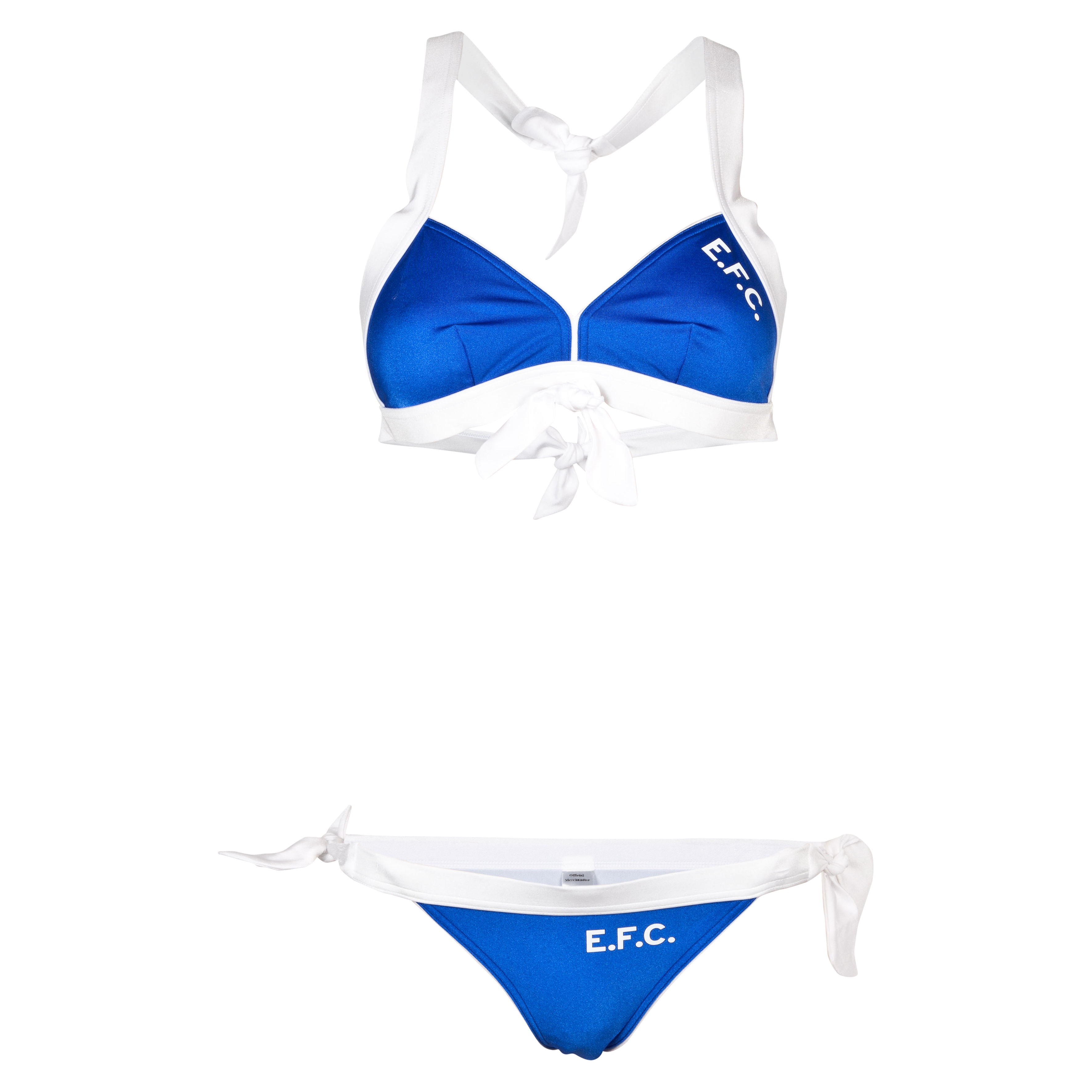 Everton Bikini - Blue/White - Womens