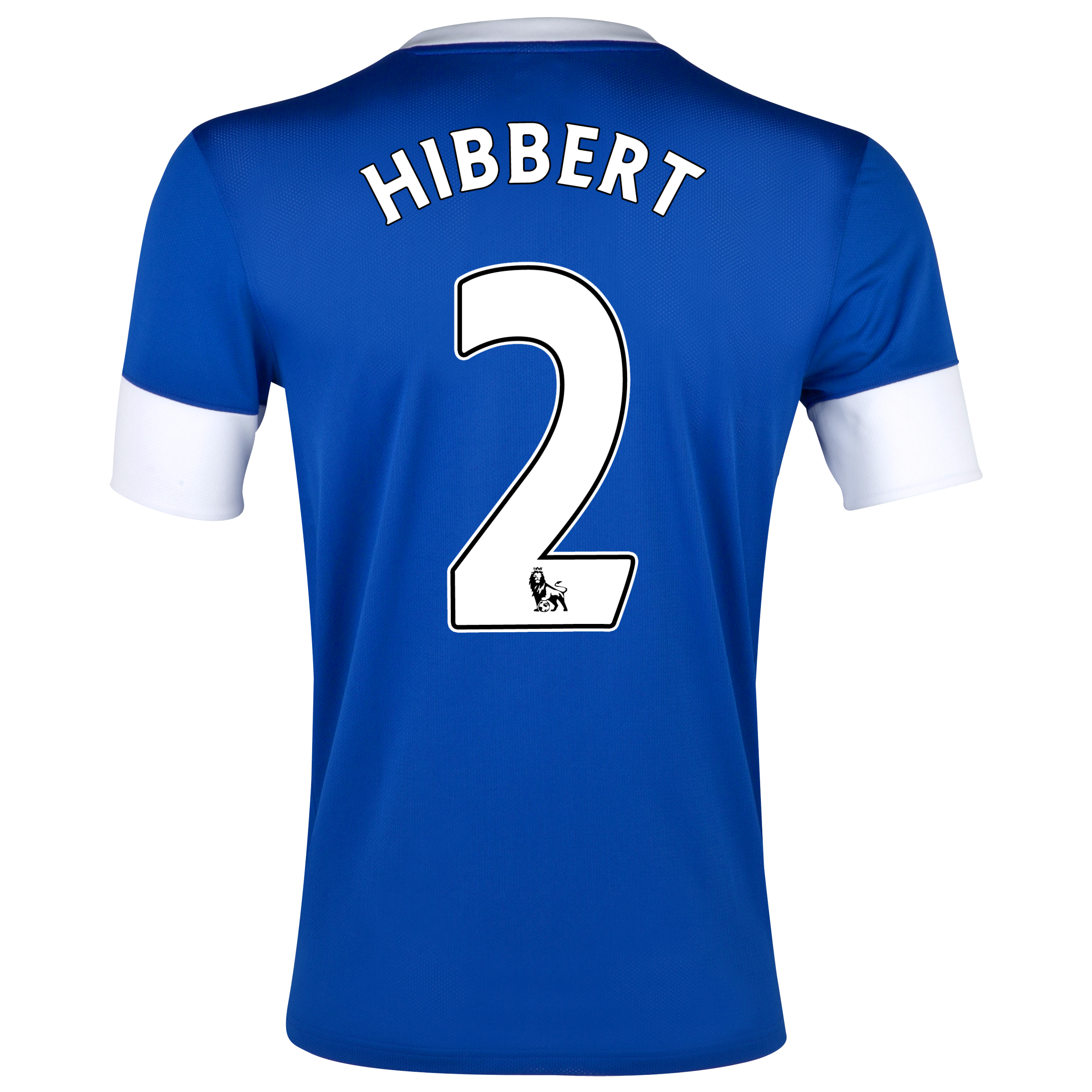 Everton Home Shirt 2012/13 with Hibbert 2 printing