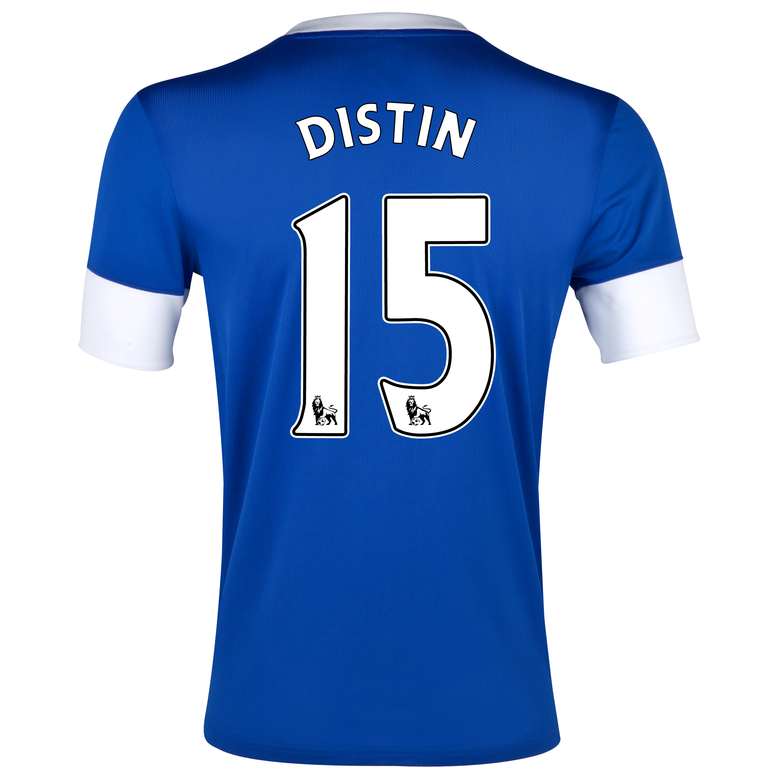 Everton Home Shirt 2012/13 with Distin 15 printing