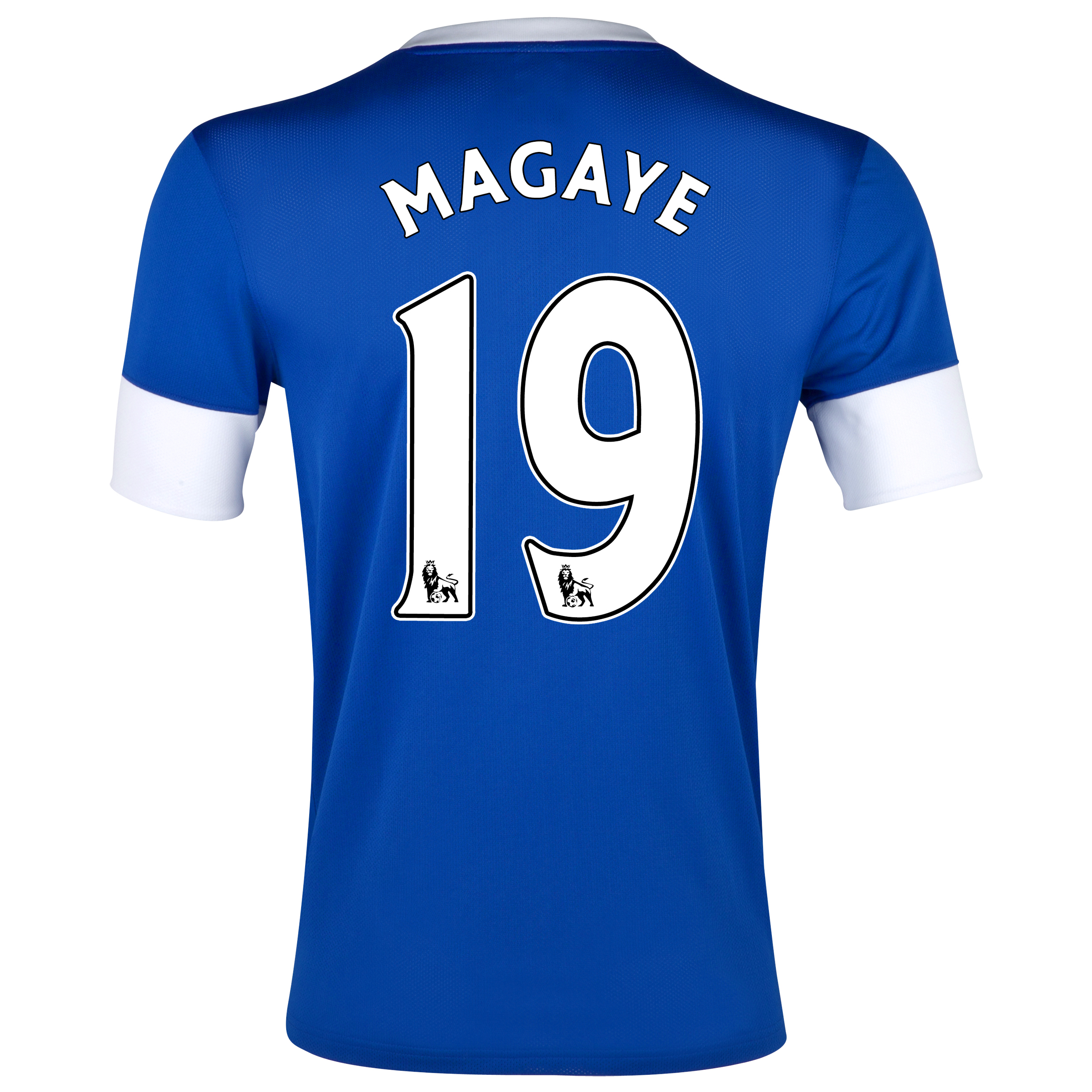 Everton Home Shirt 2012/13 with Magaye 19 printing