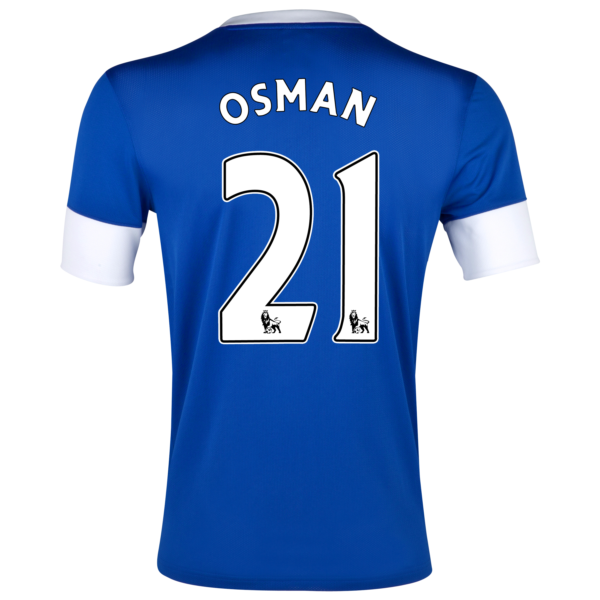 Everton Home Shirt 2012/13 with Osman 21 printing