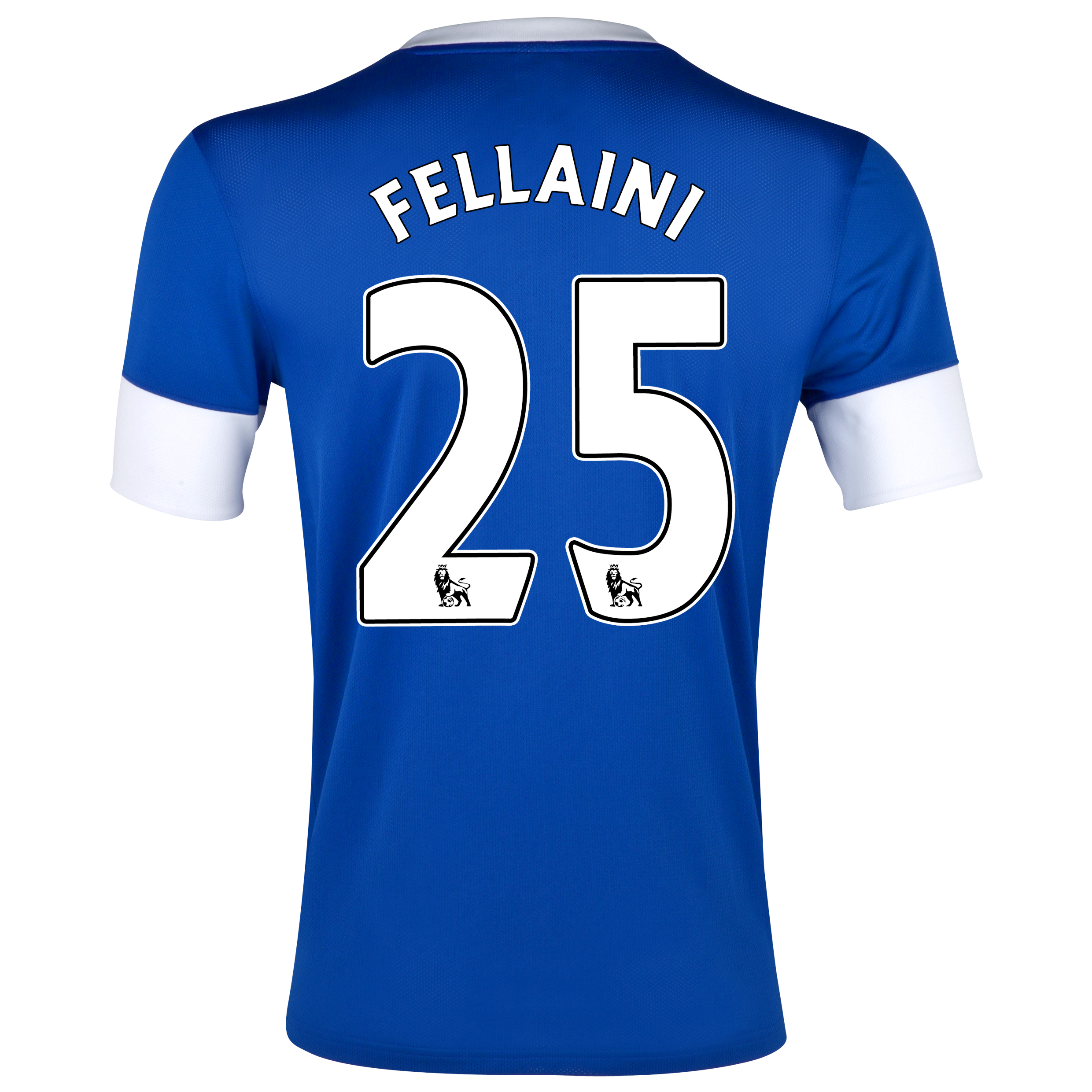 Everton Home Shirt 2012/13 with Fellaini 25 printing