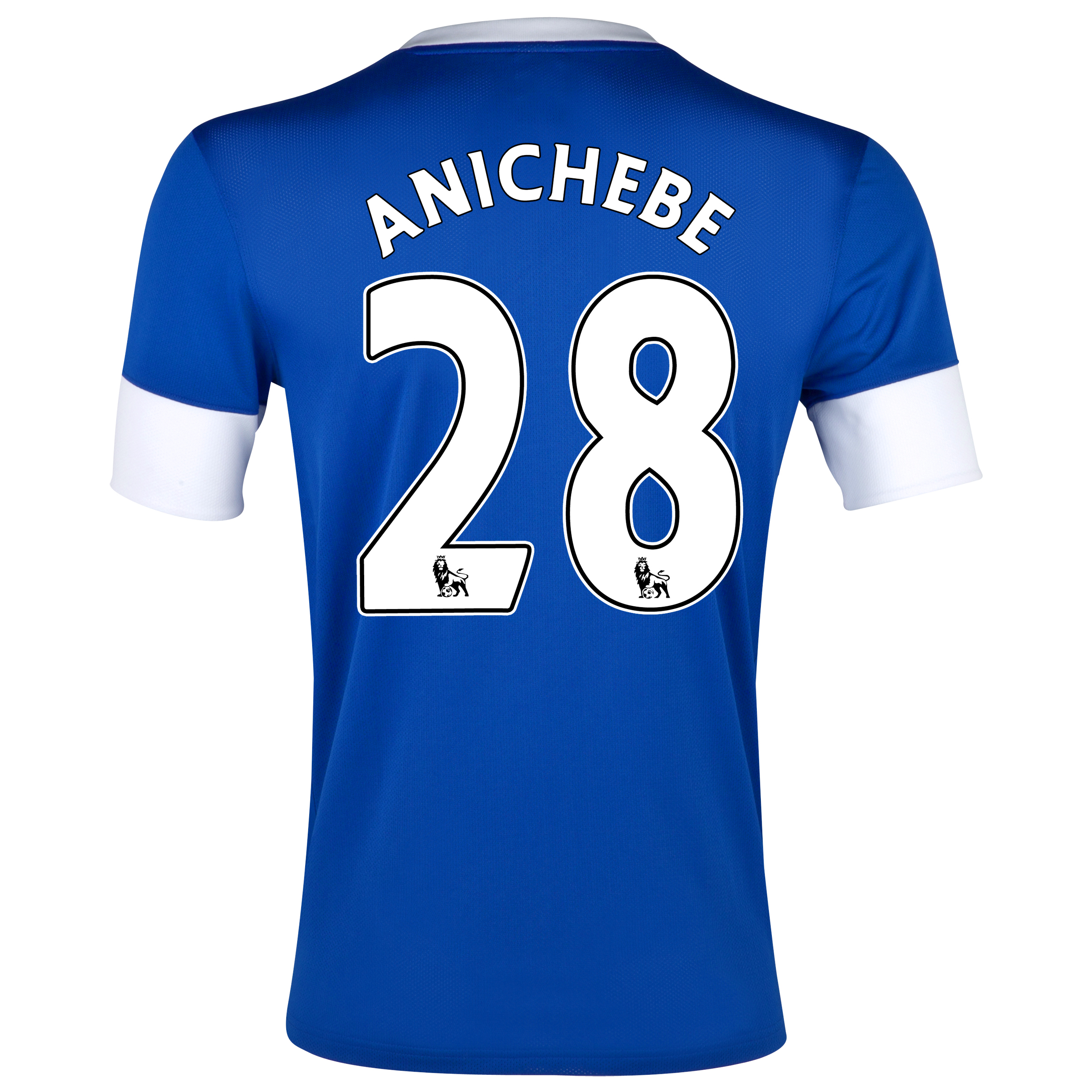 Everton Home Shirt 2012/13 with Anichebe 28 printing