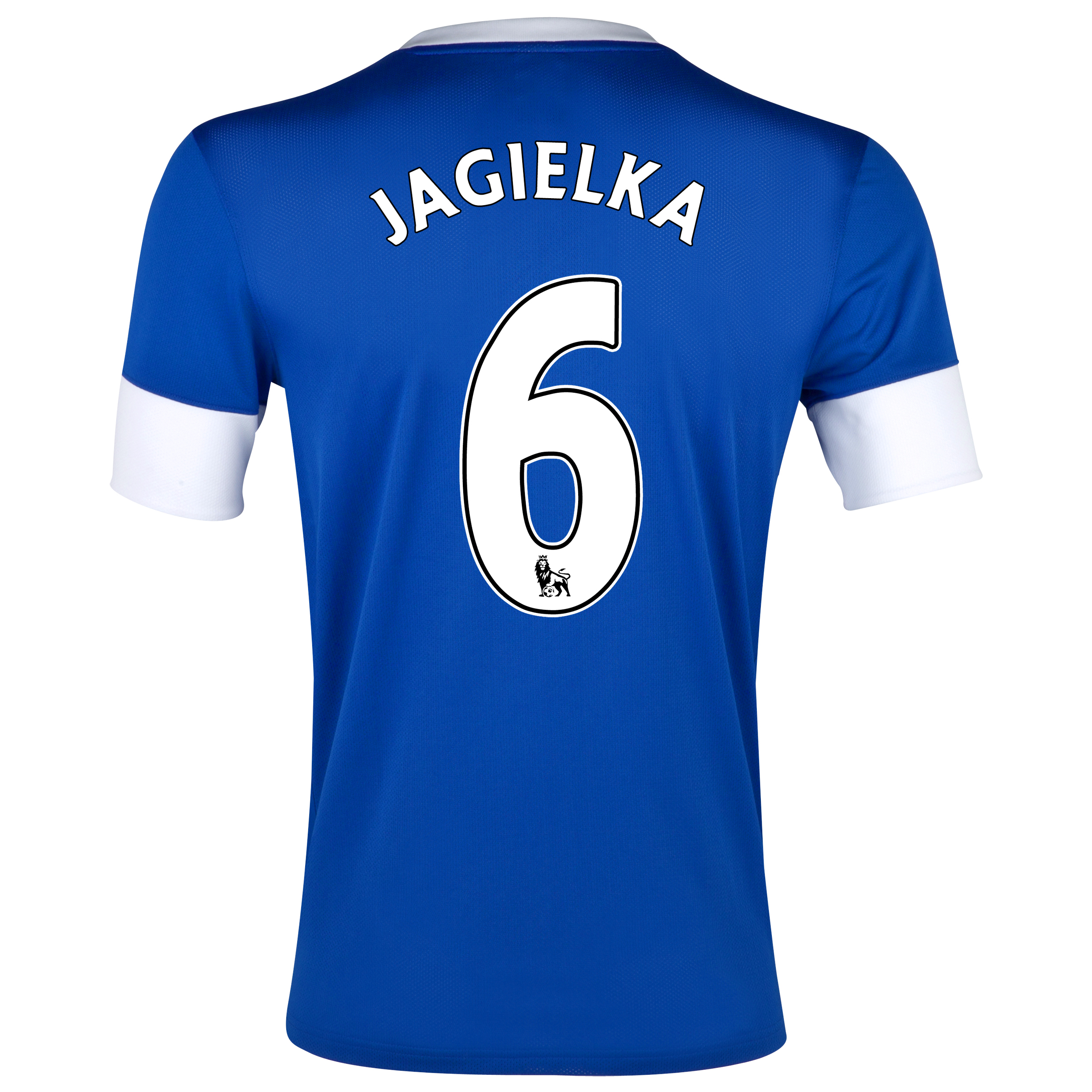 Everton Home Shirt 2012/13 - Junior with Jagielka 6 printing