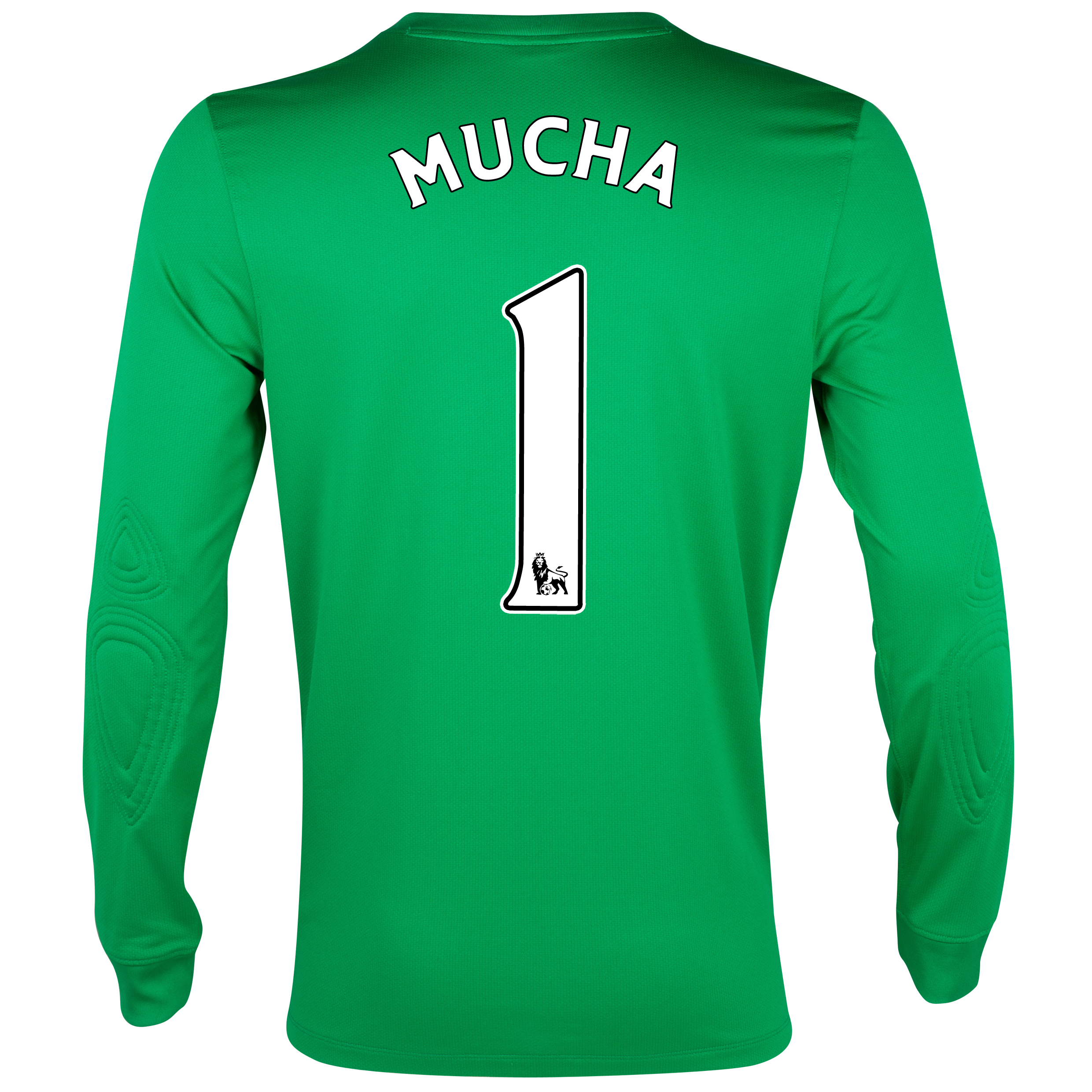 Everton Home Goalkeeper Shirt 2012/13 with Mucha 1 printing