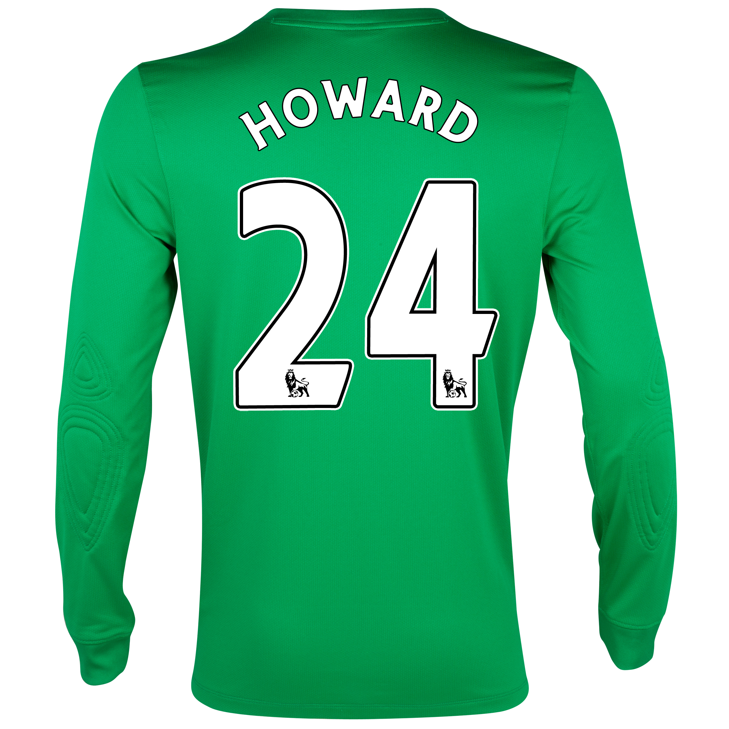 Everton Home Goalkeeper Shirt 2012/13 with Howard 24 printing