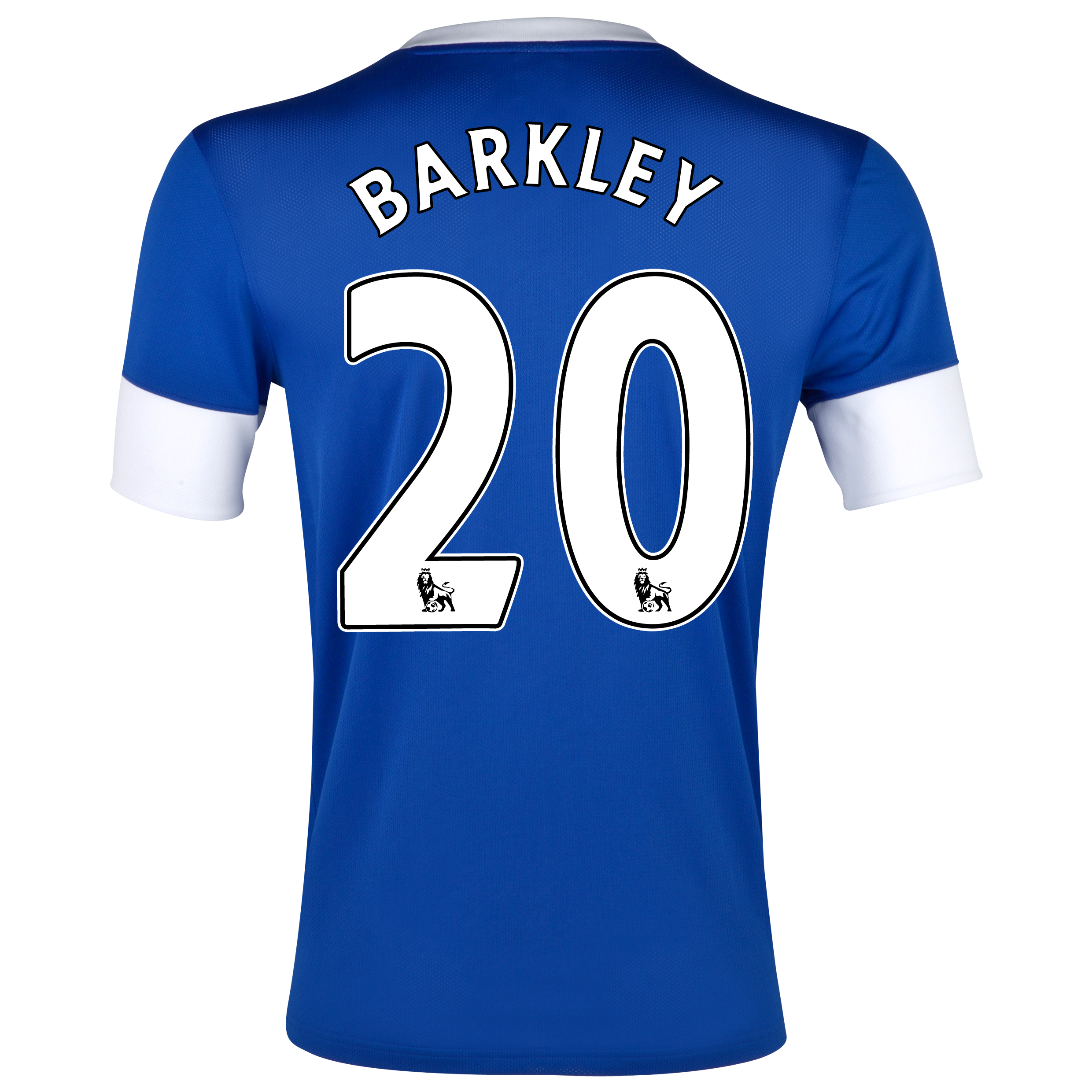 Everton Home Shirt 2012/13 with Barkley 20 printing