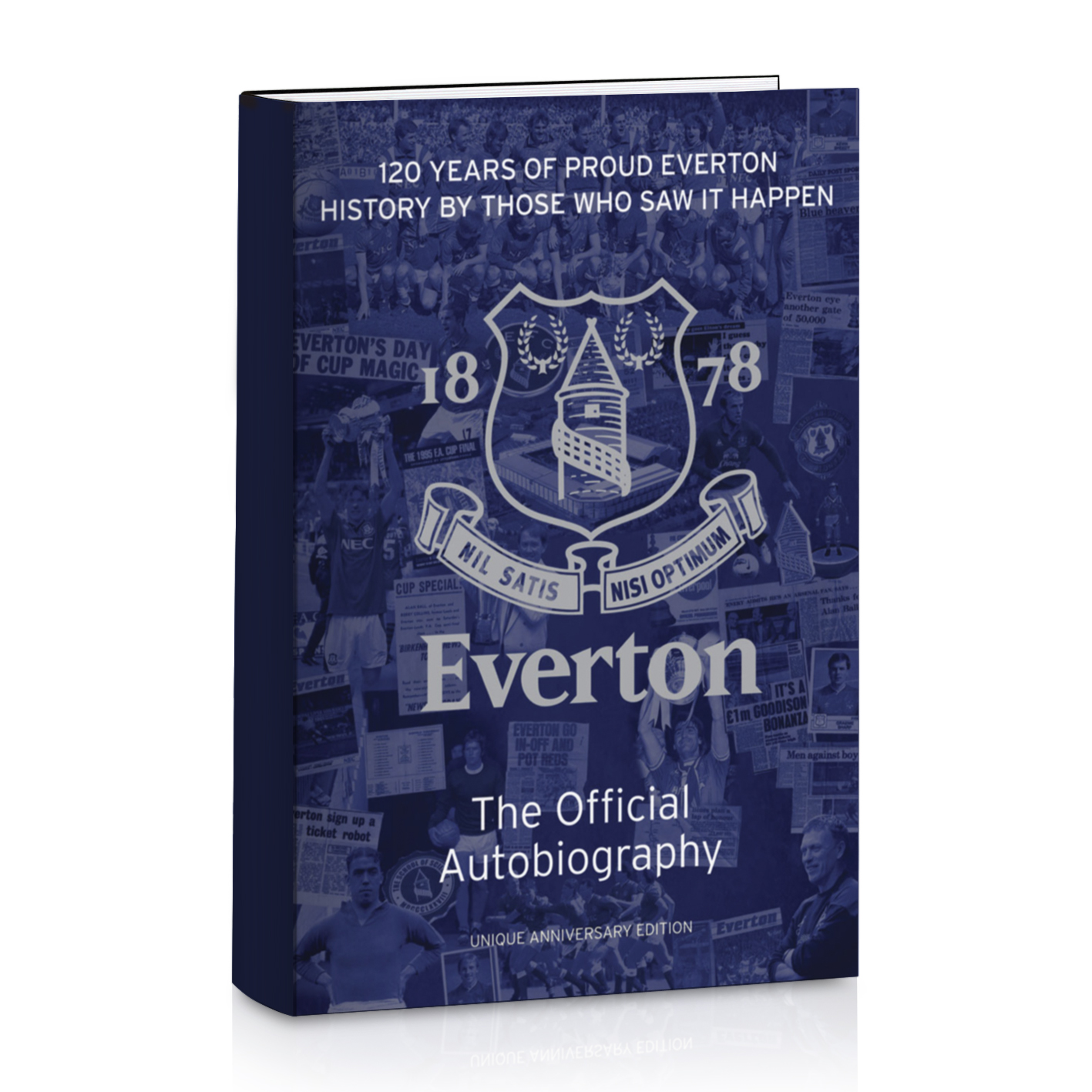 Everton The Official Autobiography