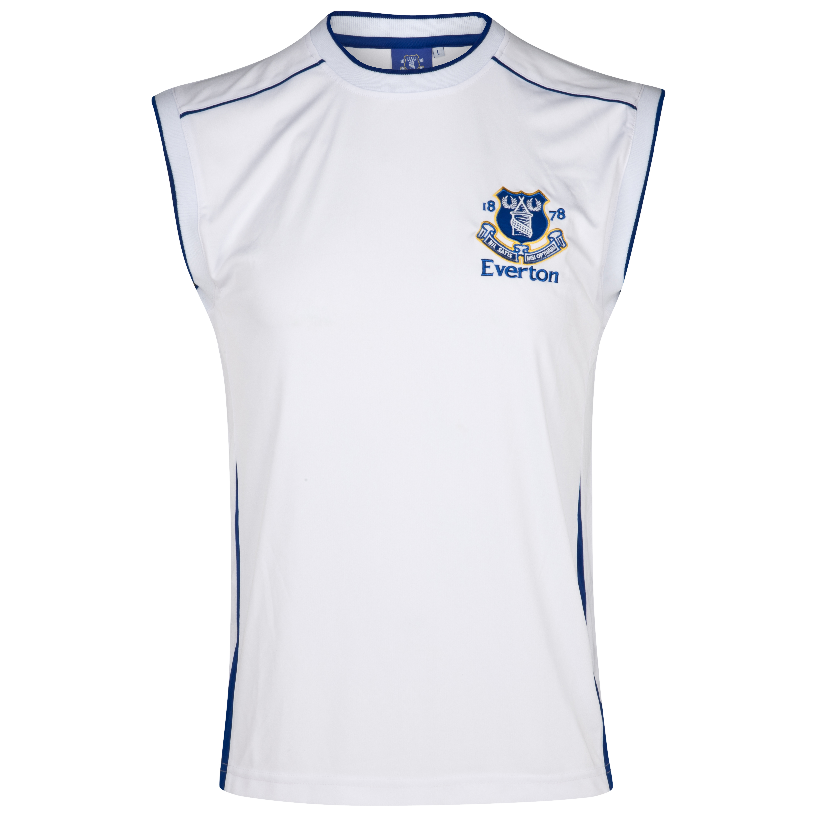 Everton Essential Final Vest - White