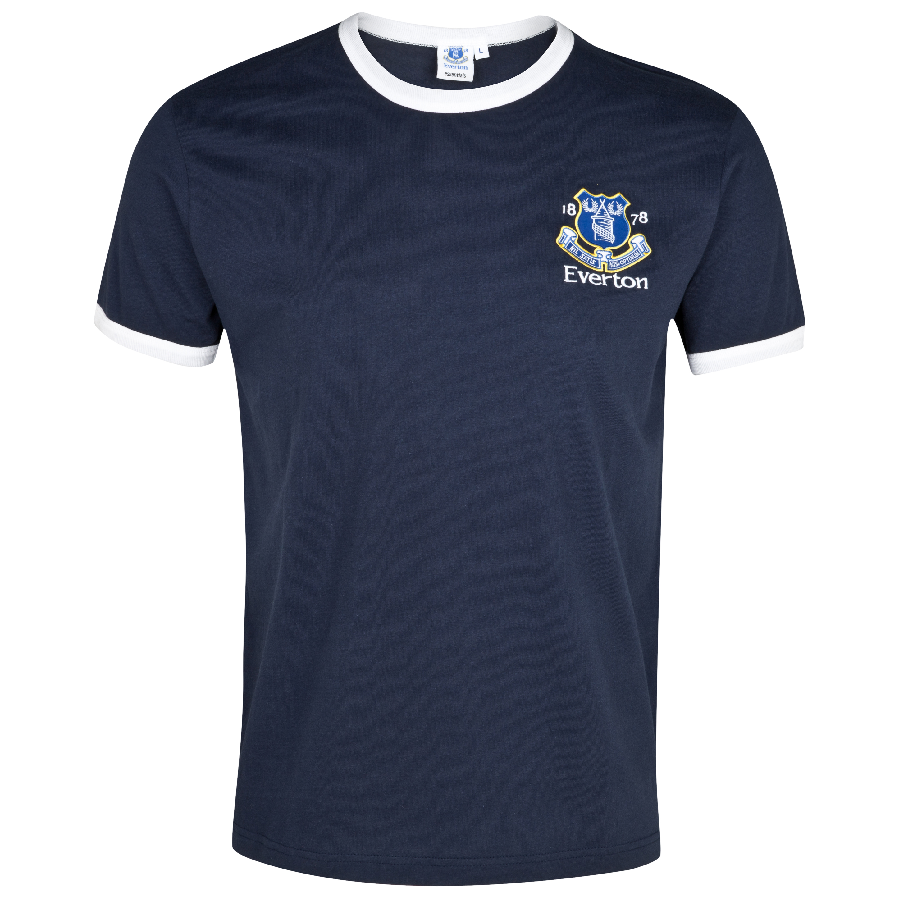 Everton Essentials Ringed T-Shirt - Navy