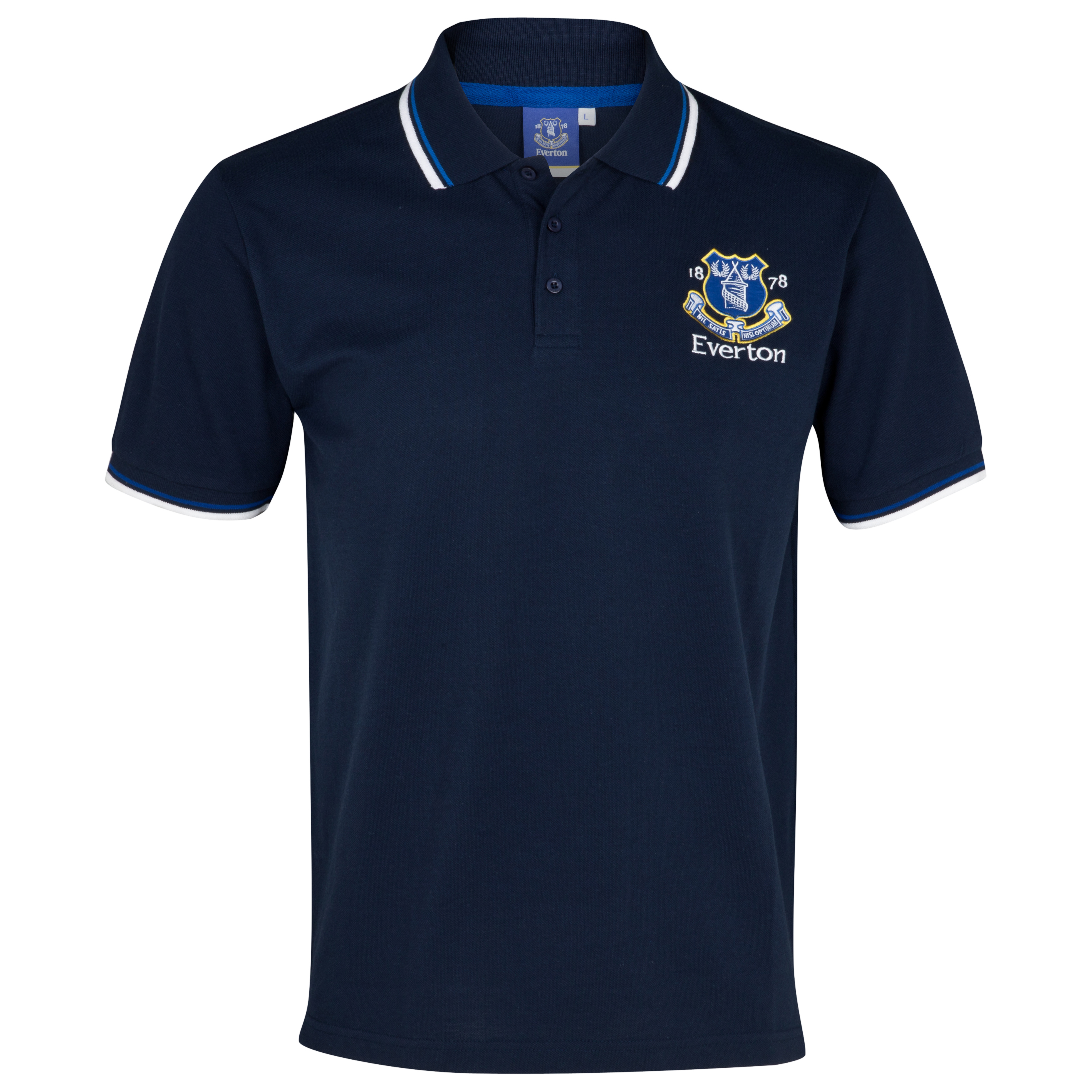 Everton Essentials Park Polo Top - Navy