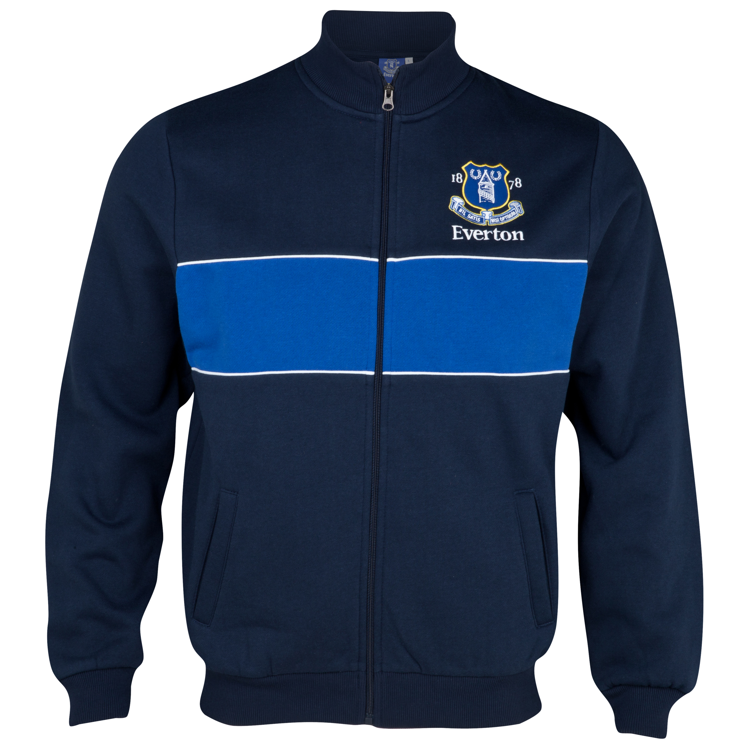 Everton Essential Track Top - Navy/White