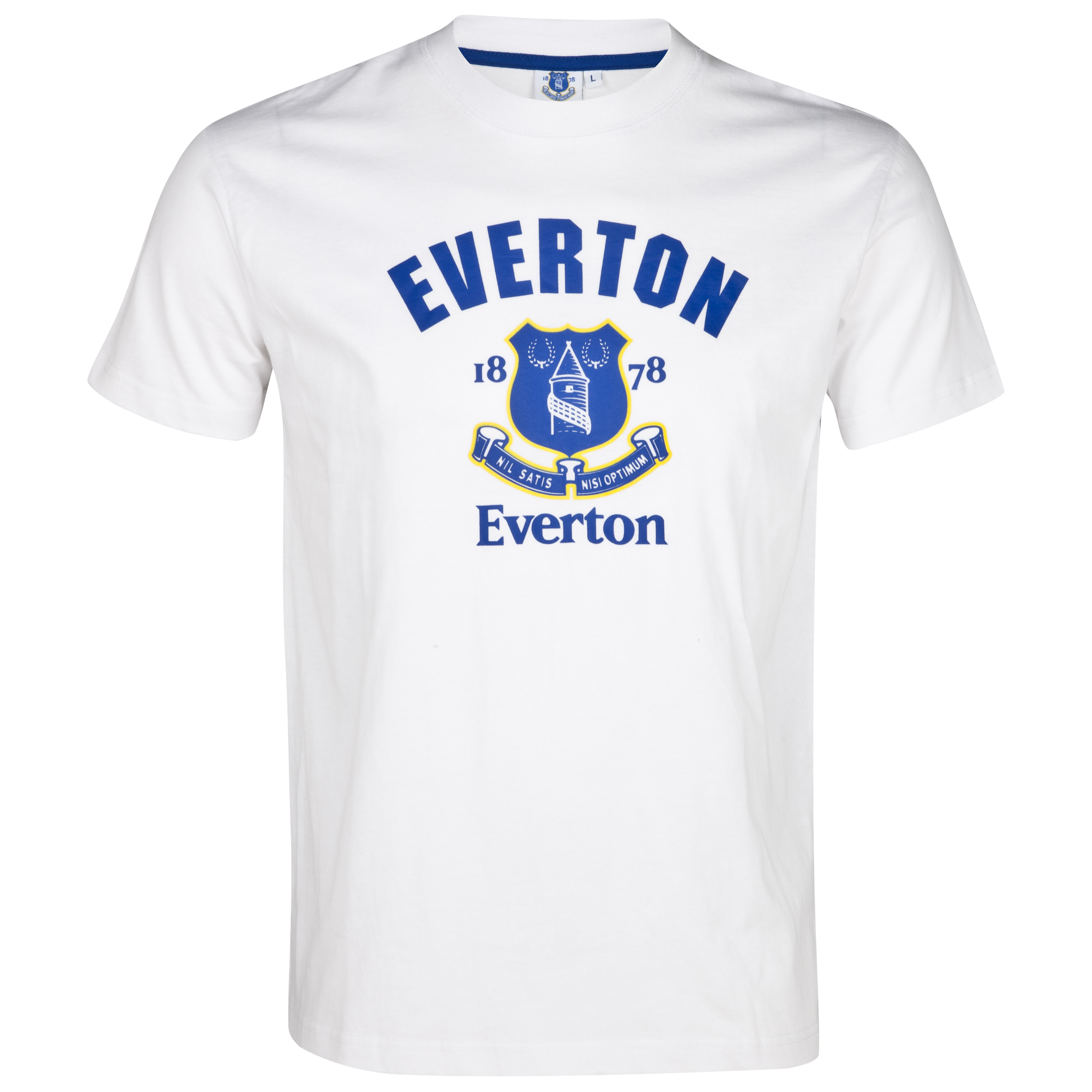 Everton Essentials Whistle T-Shirt - White - Older Boys