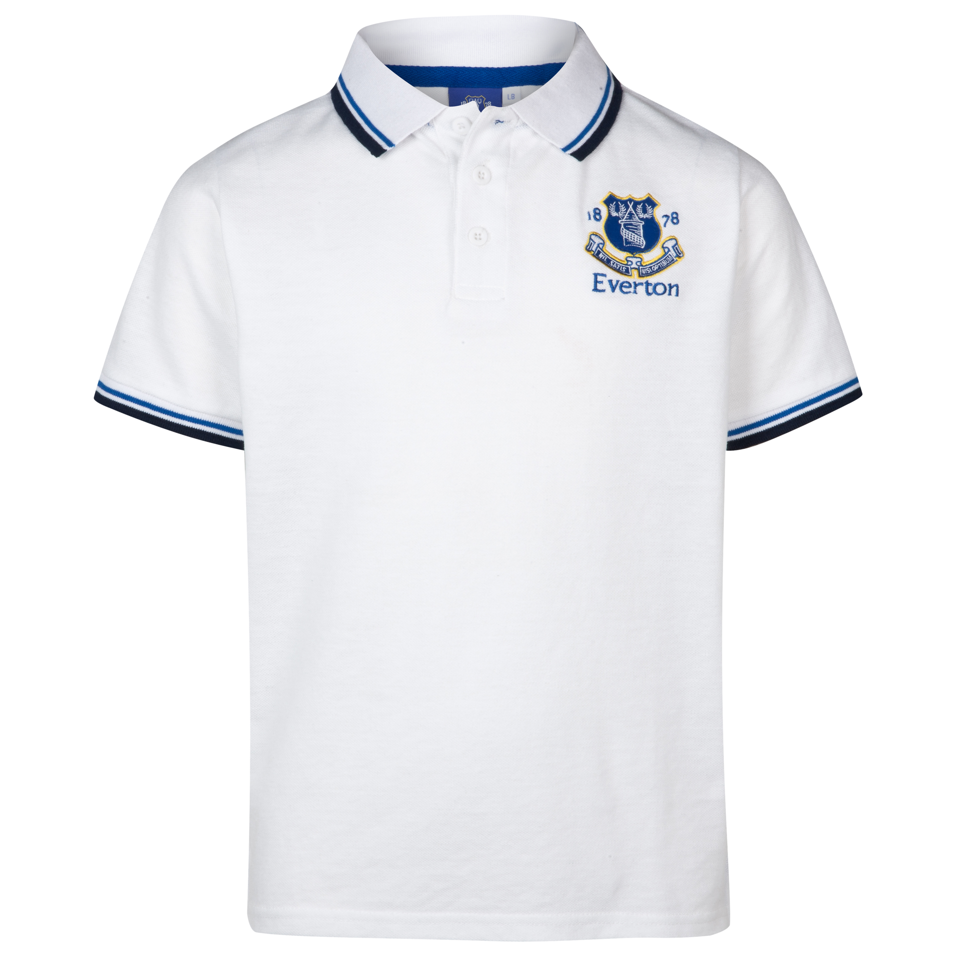 Everton Essentials Park Polo Top - White - Older Boys