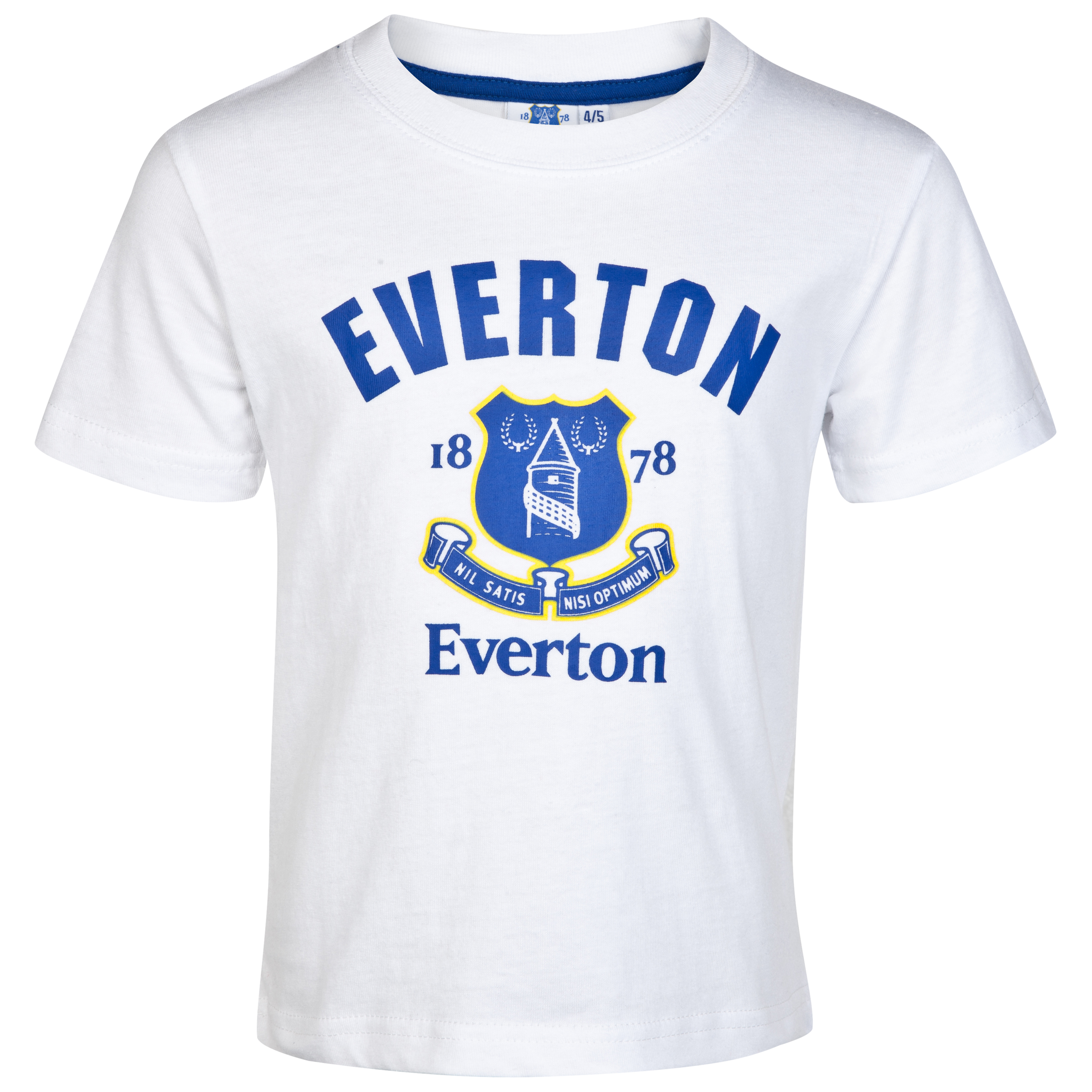 Everton Essentials Whistle T-Shirt - White - Infant Boys