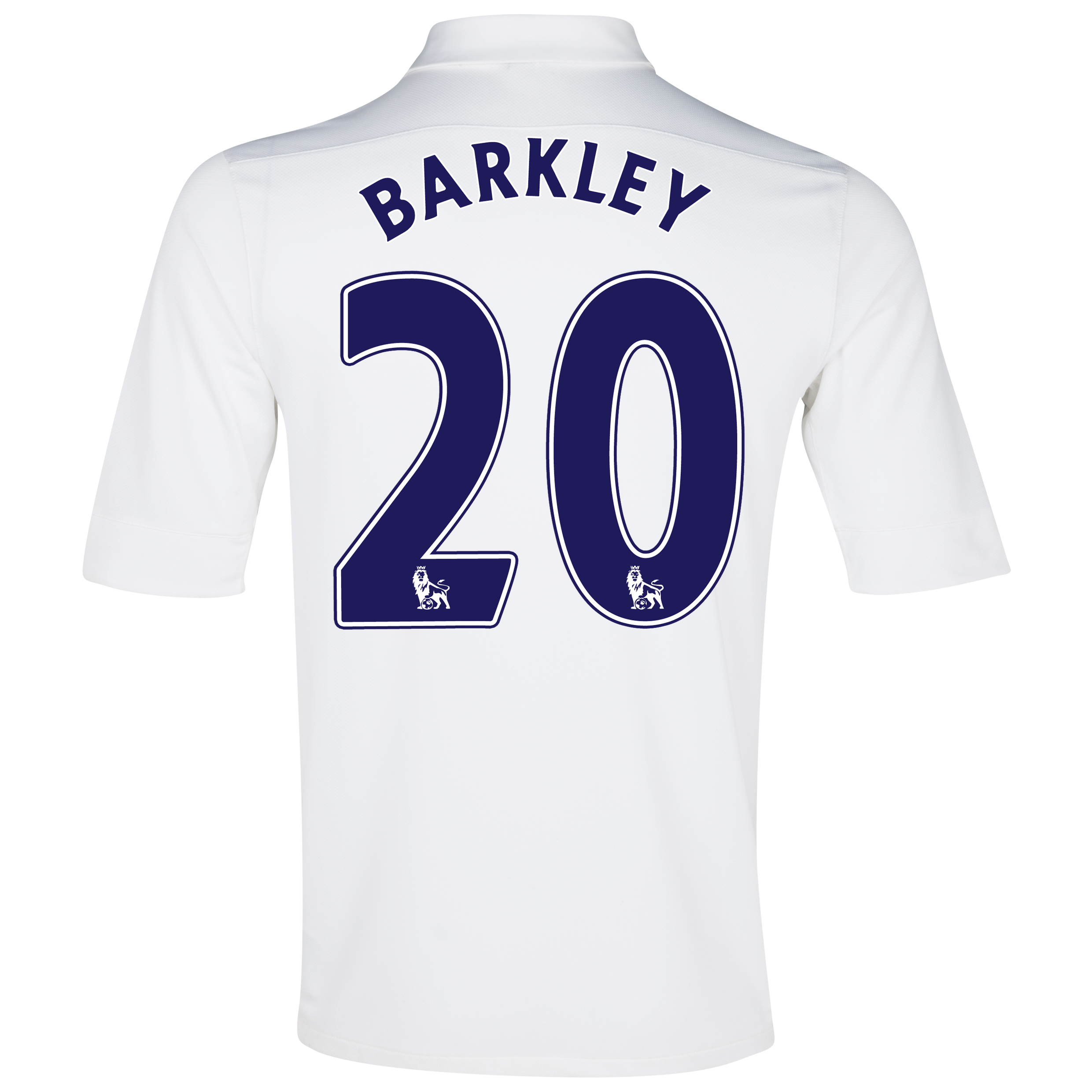 Everton 3rd Shirt 2012/13 with Barkley 20 printing