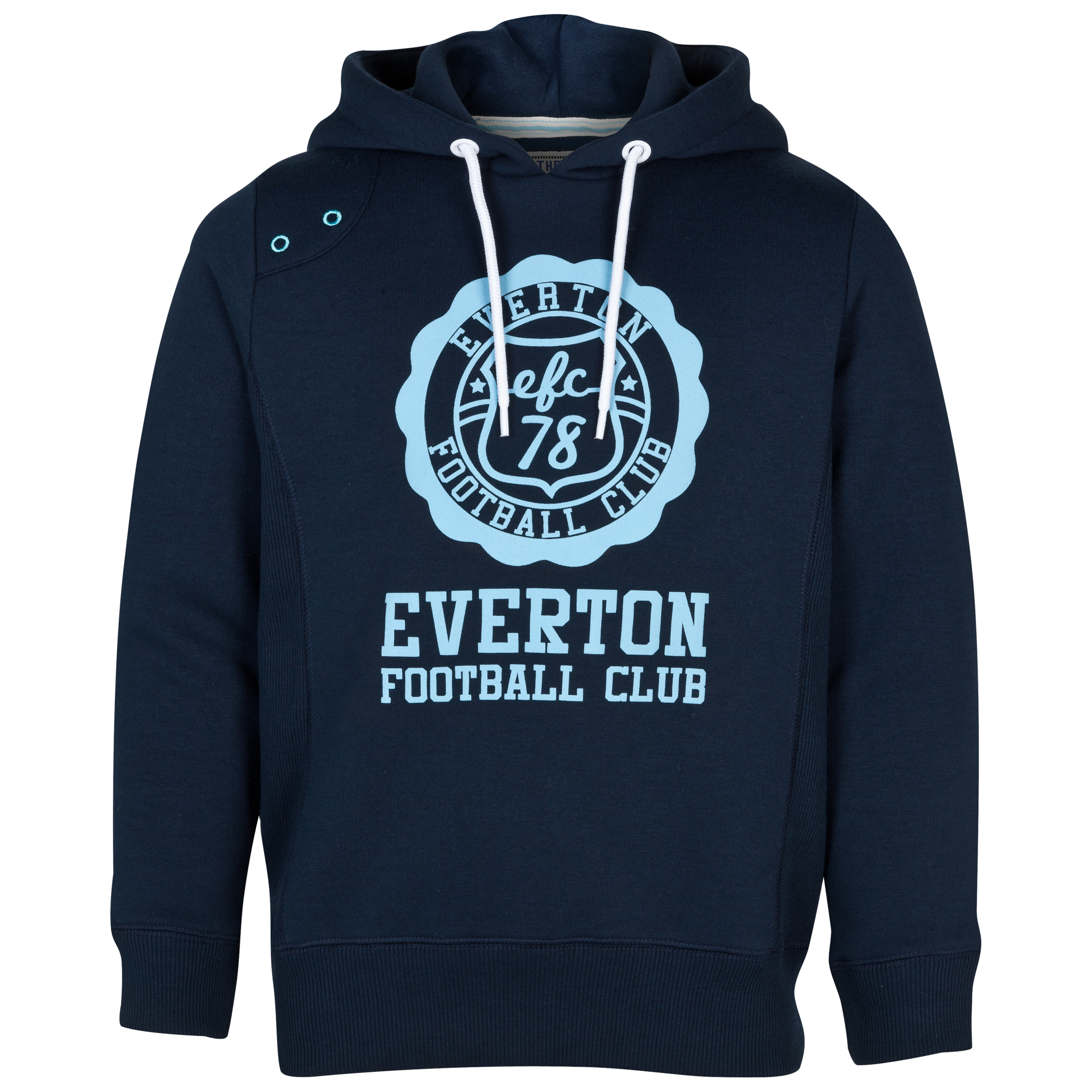 Everton Circuit Hoodie - Navy - Older Boys