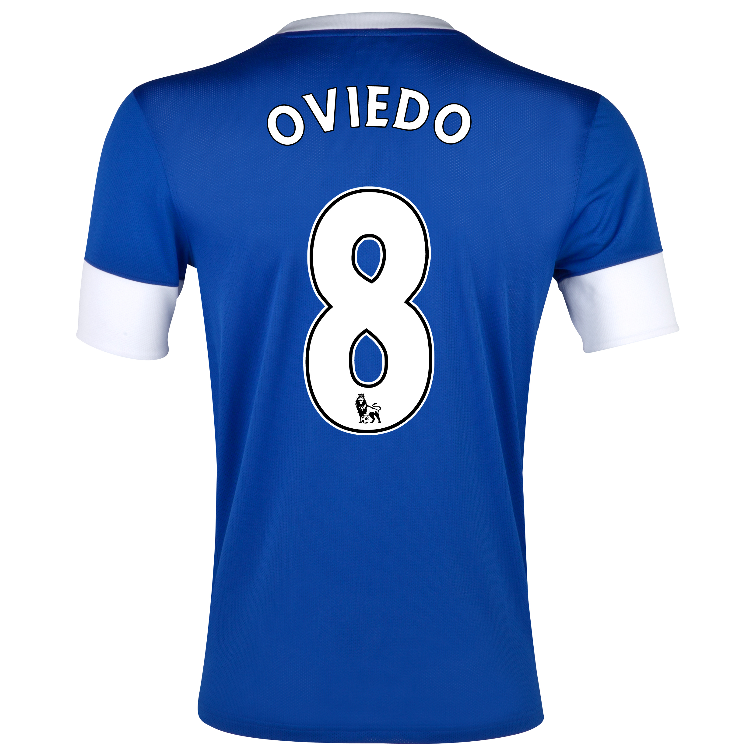 Everton Home Shirt 2012/13 with Oviedo 8 printing