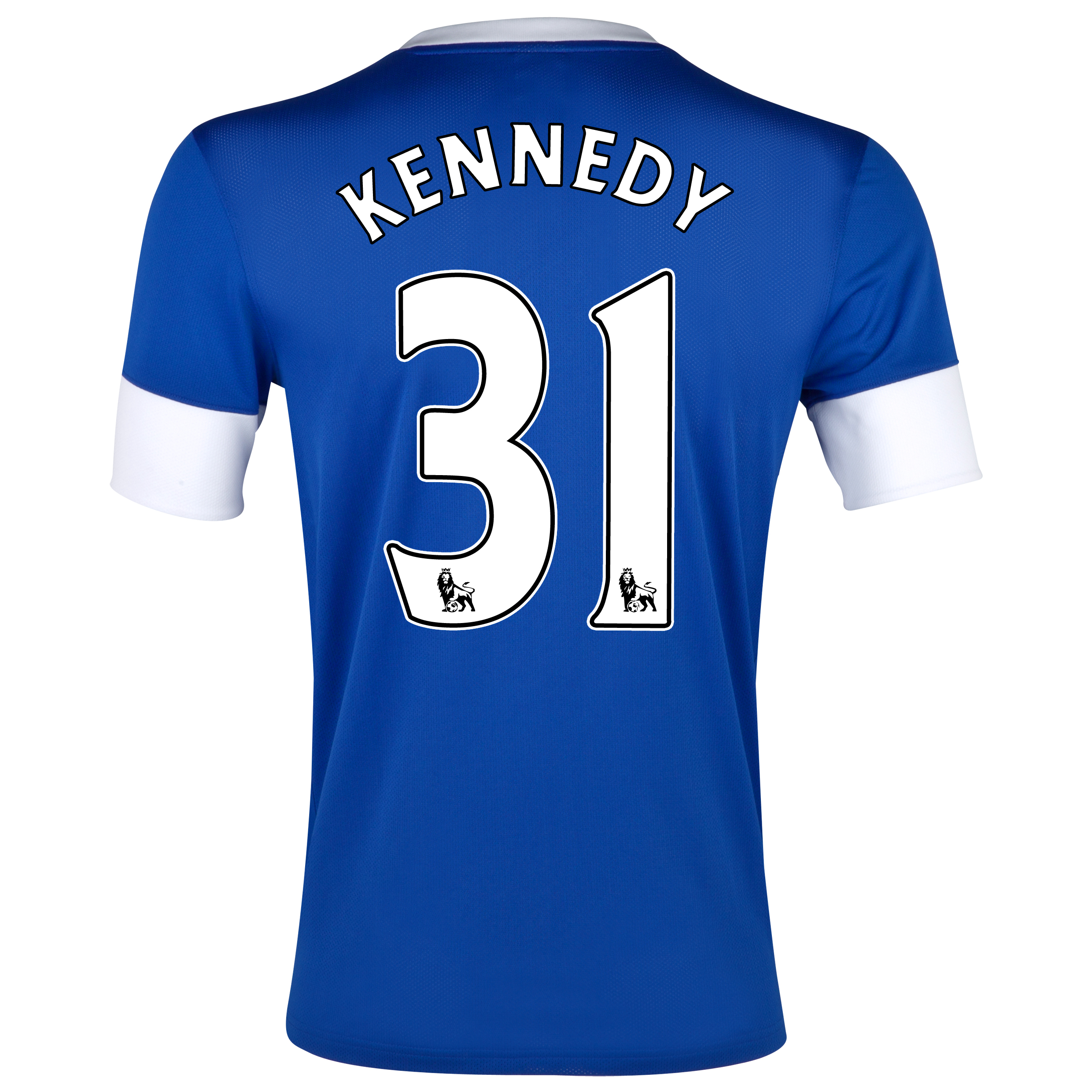Everton Home Shirt 2012/13 with Kennedy 31 printing