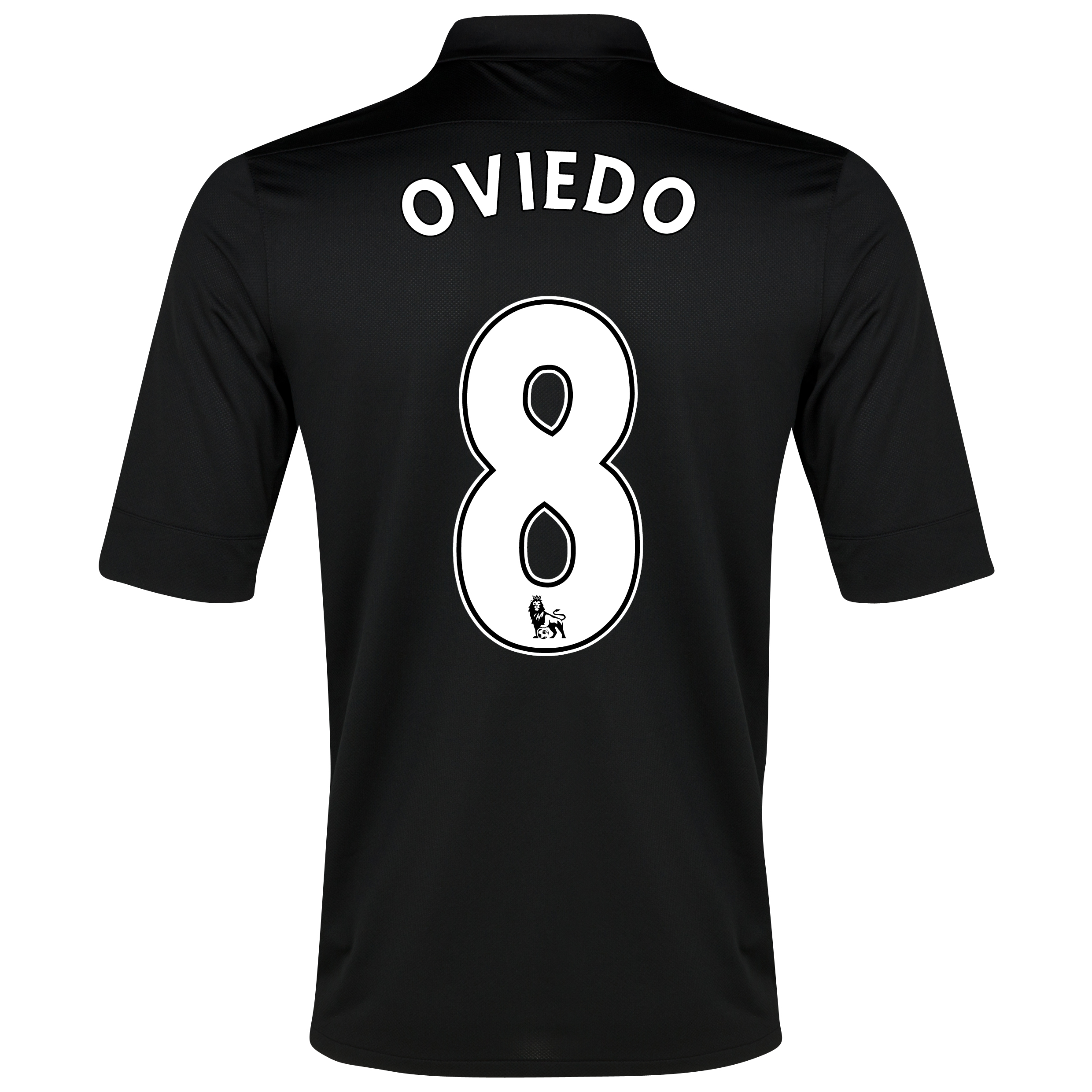 Everton Away Shirt 2012/13 with Oviedo 8 printing