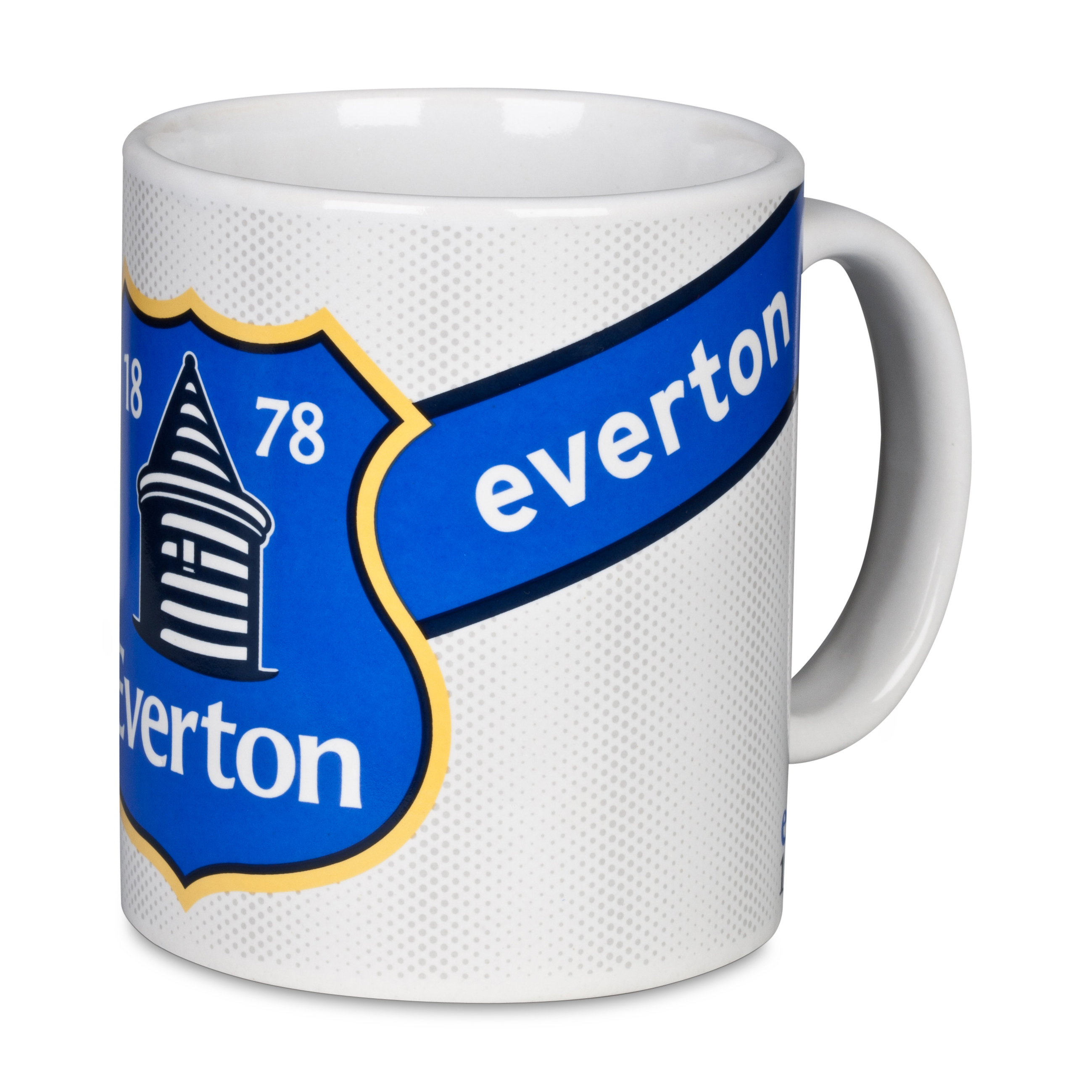 Everton Core Sash White SS13 11oz Mug
