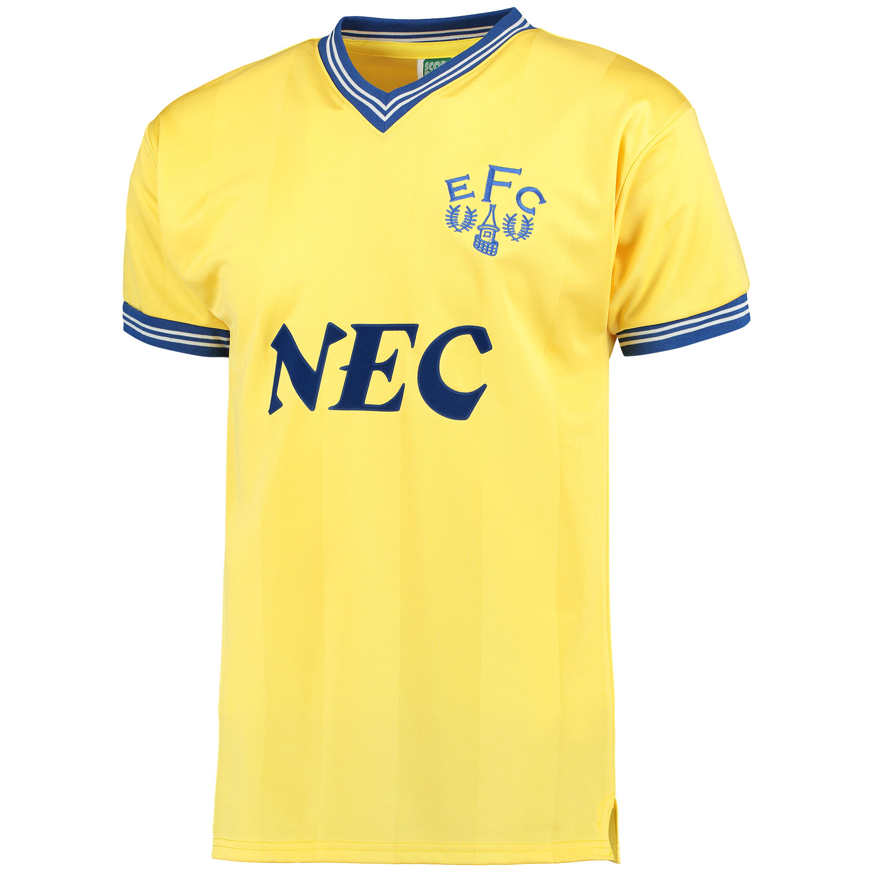 Everton 1986 Away Shirt - Yellow