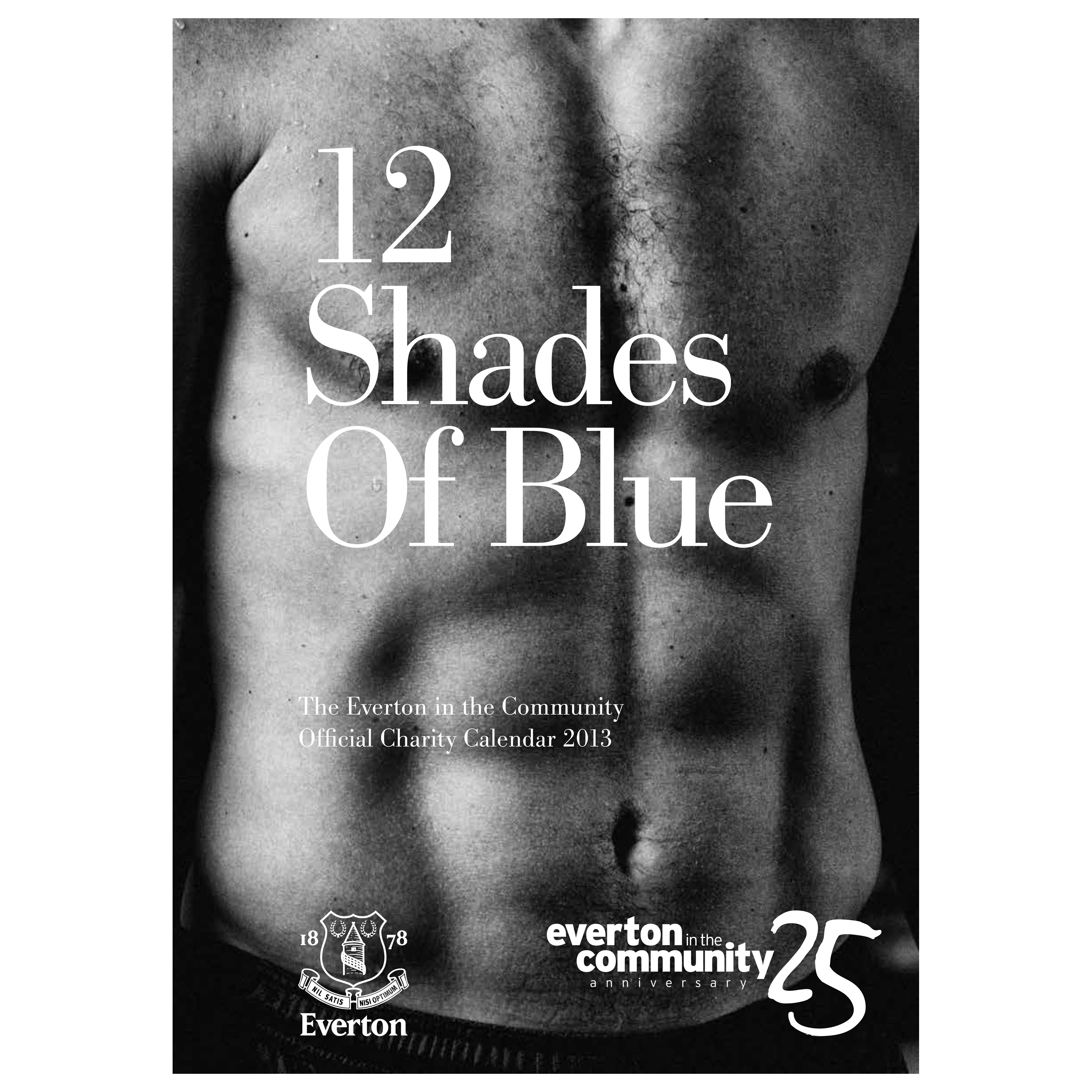 Everton EITC 12 Shades of Blue Calendar