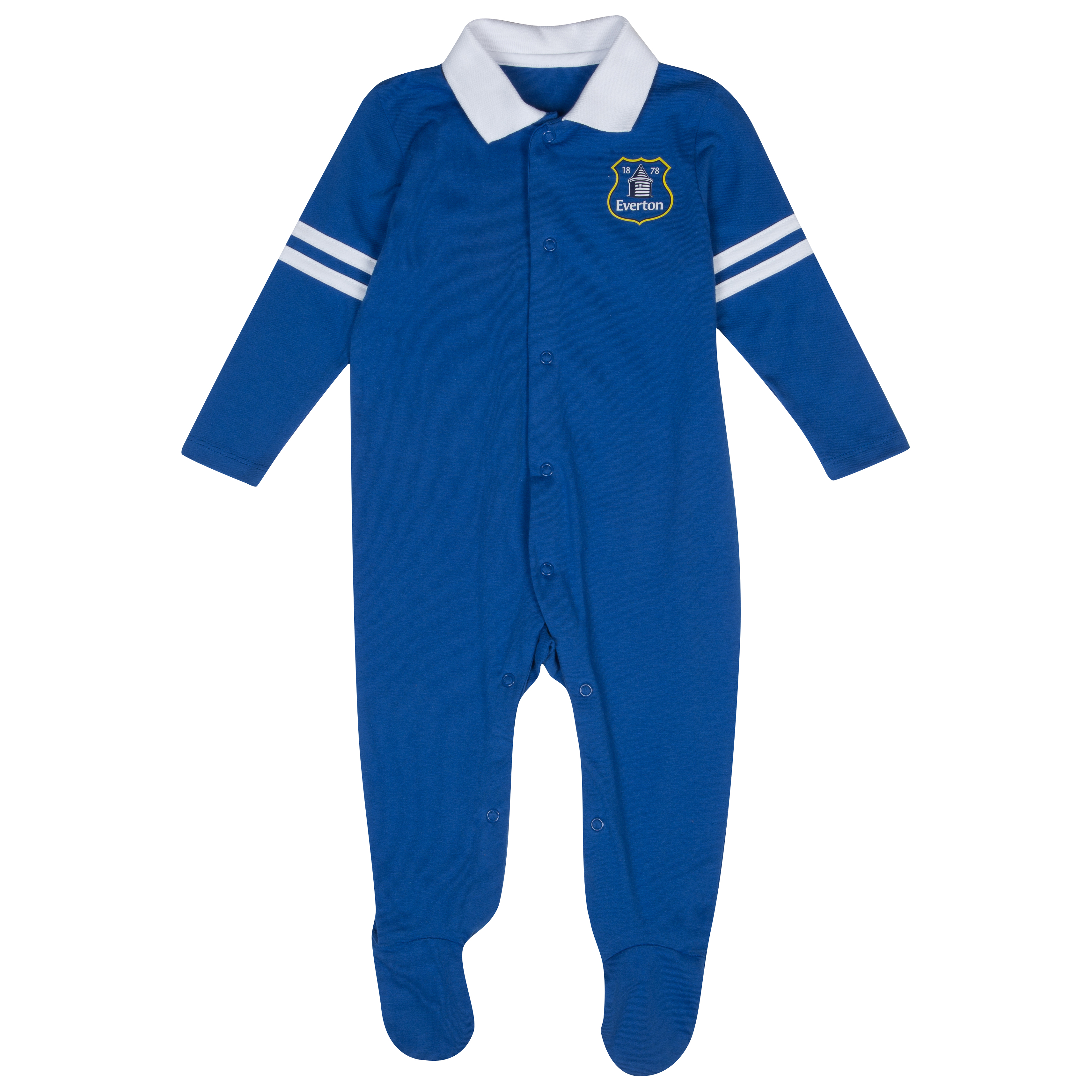 Everton 13/14 Kit Sleepsuit - Blue - Baby