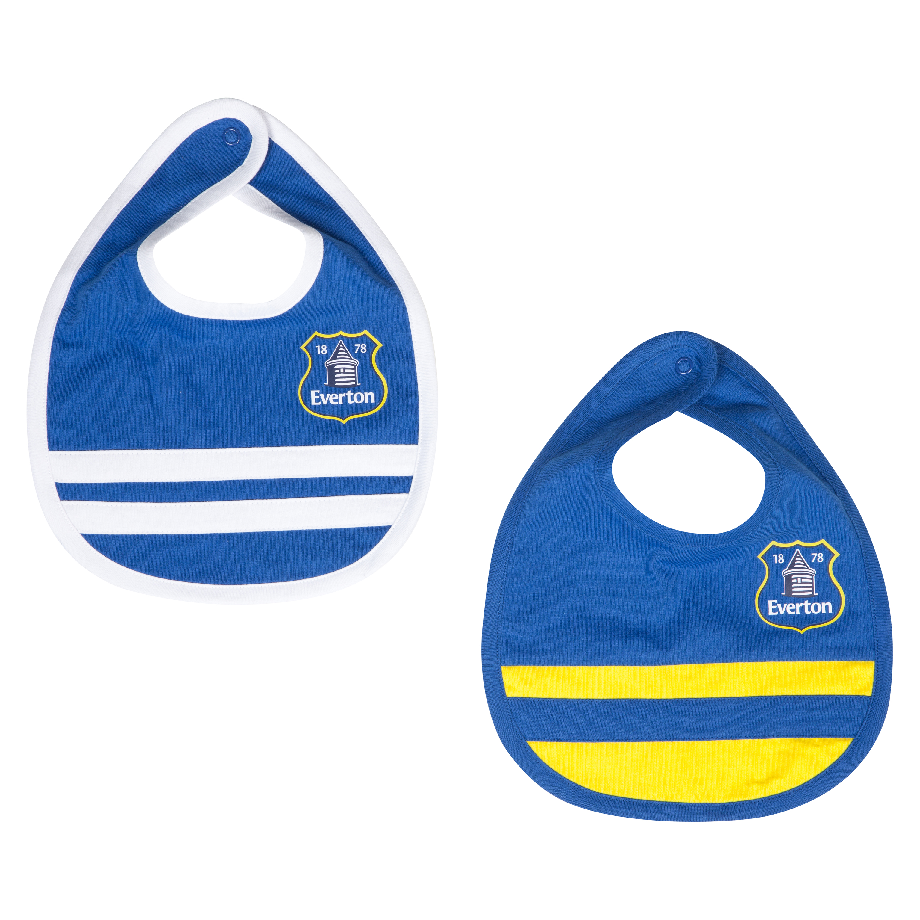 Everton 13/14 Home and Away Bibs - Blue/Yellow - Baby