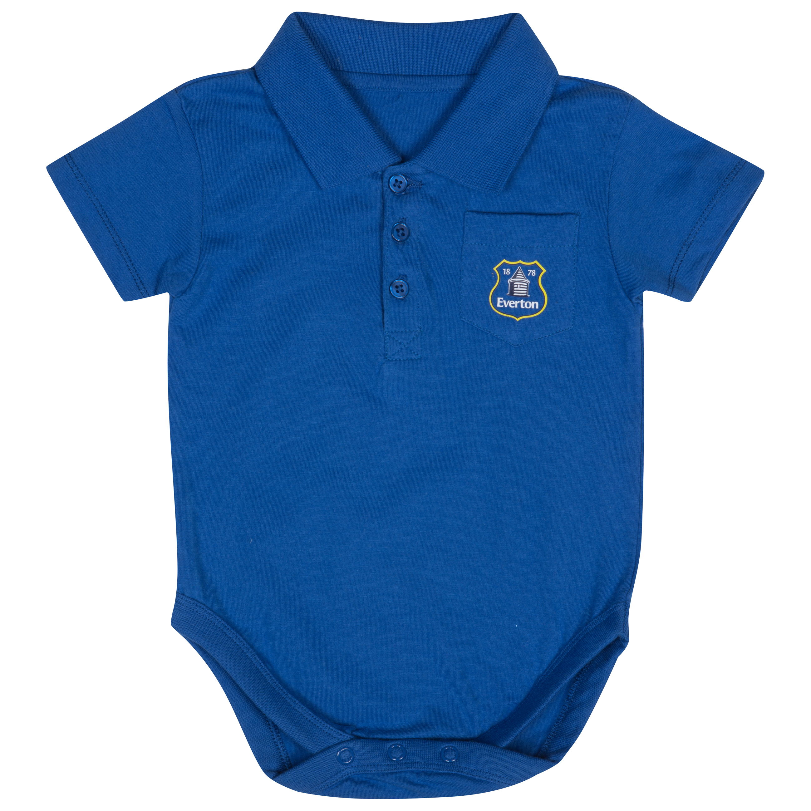 Everton Pocket Bodysuit - Blue - Baby