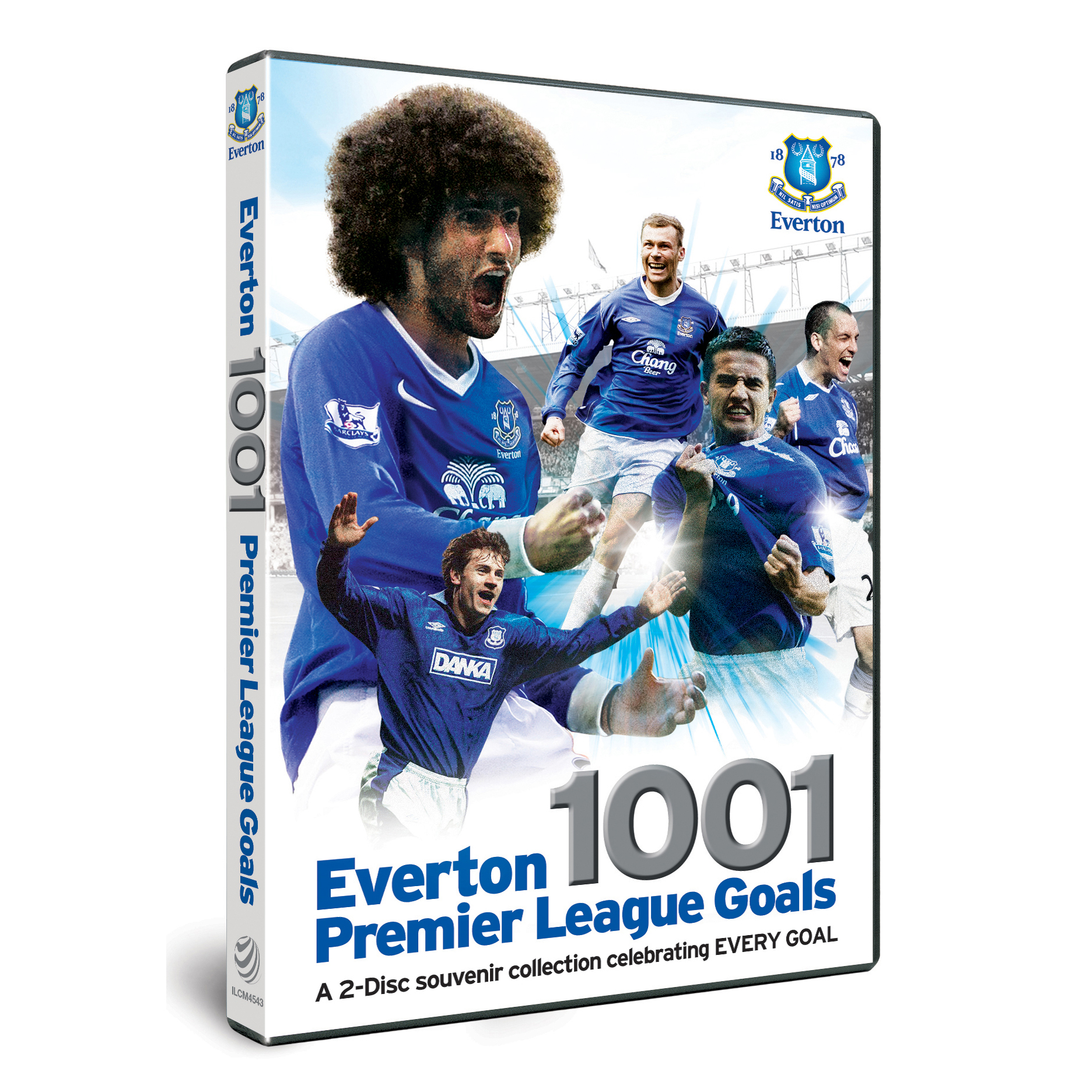Everton 1001 Premier League Goals DVD