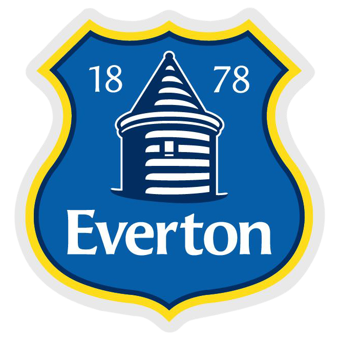 Everton Small Crest Car Sticker