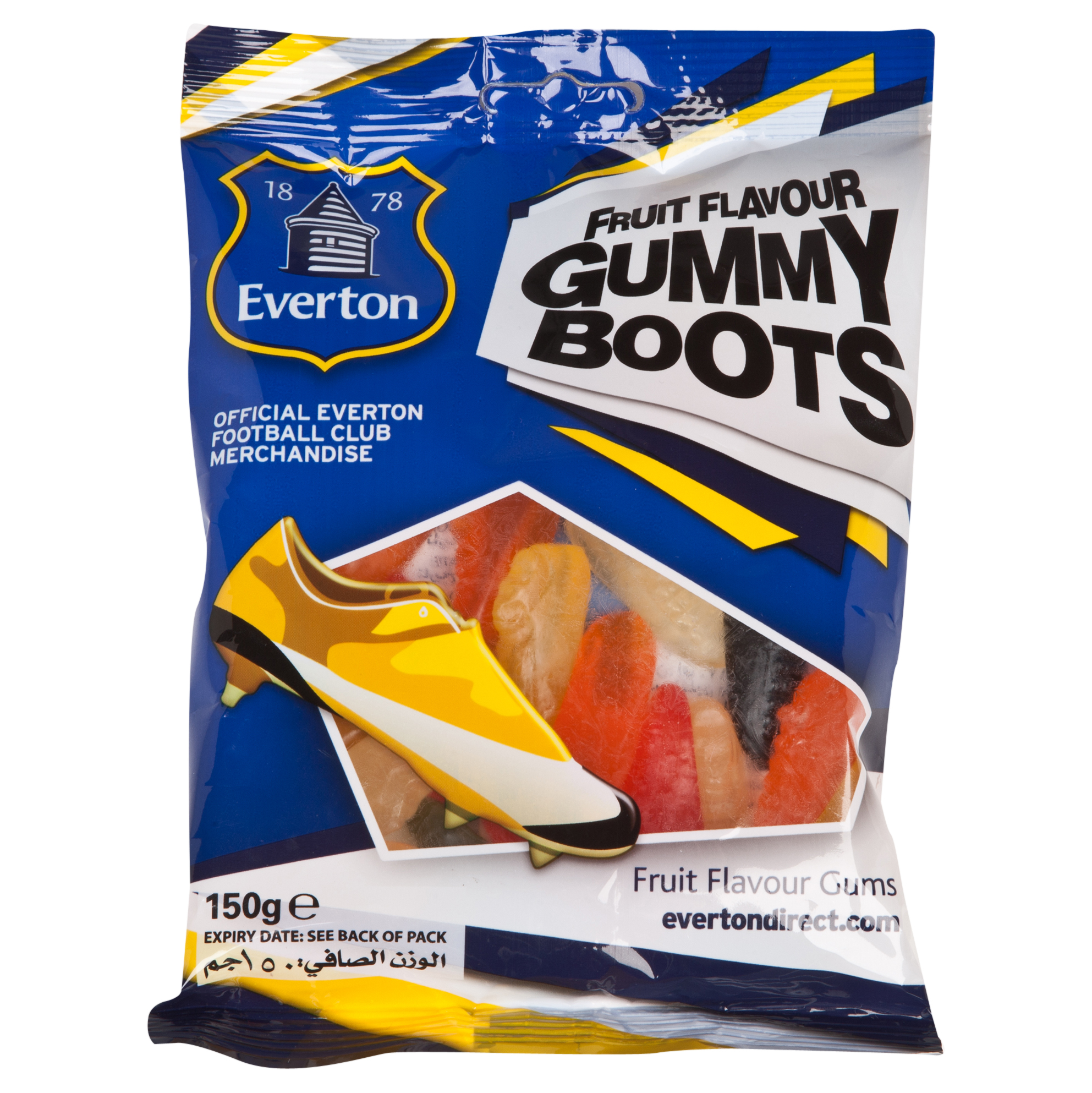 Everton Gummy Boots 150gm