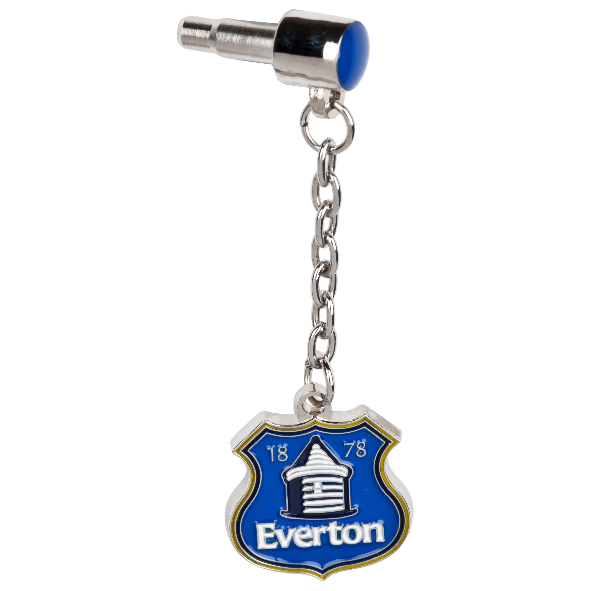 Everton Crest Plug in Phone Charm