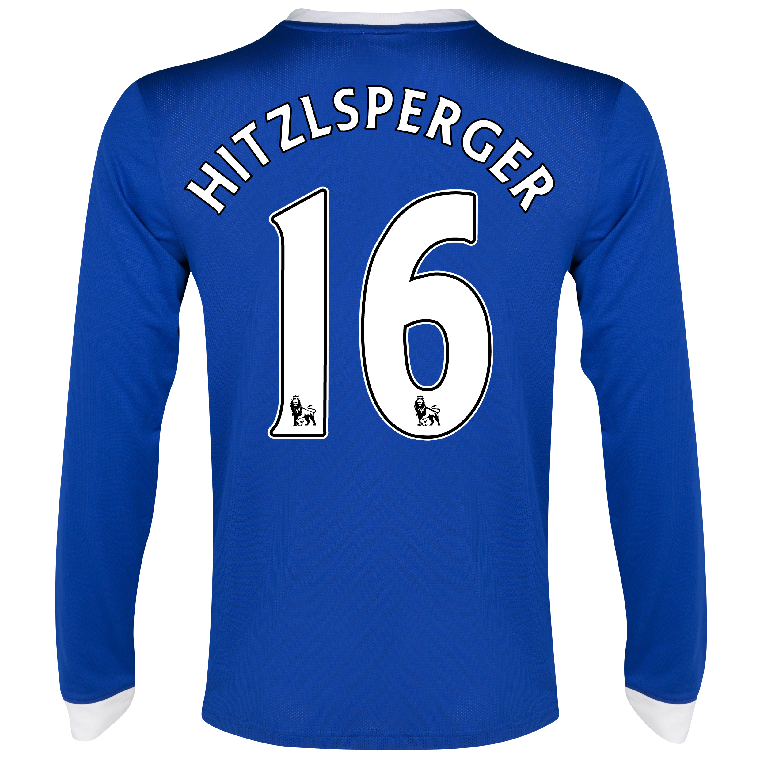 Everton Home Shirt 2012/13 - Long Sleeved with Hitzlsperger 16 printing