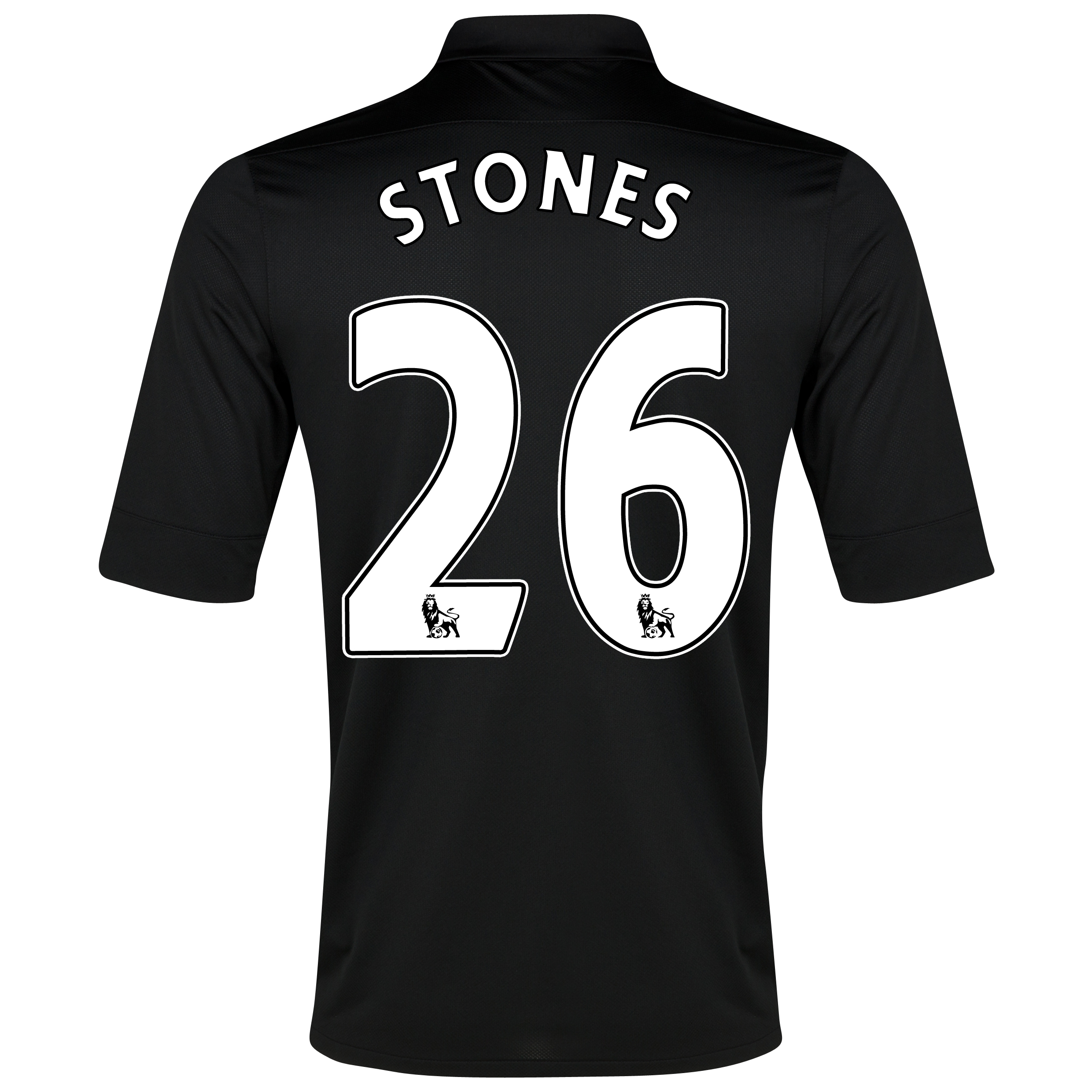 Everton Away Shirt 2012/13 with Stones 26 printing