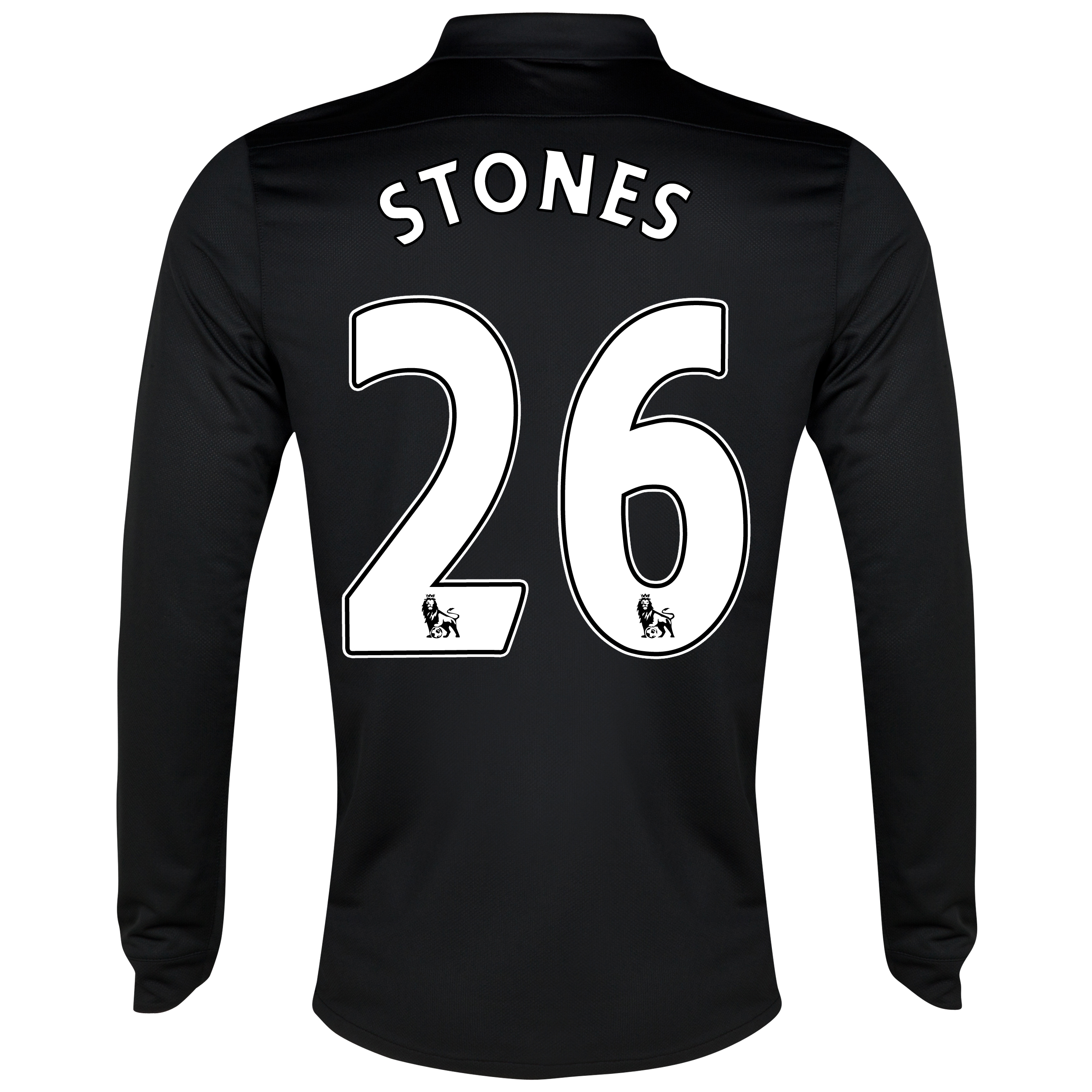 Everton Away Shirt 2012/13 - Long Sleeved - Junior with Stones 26 printing
