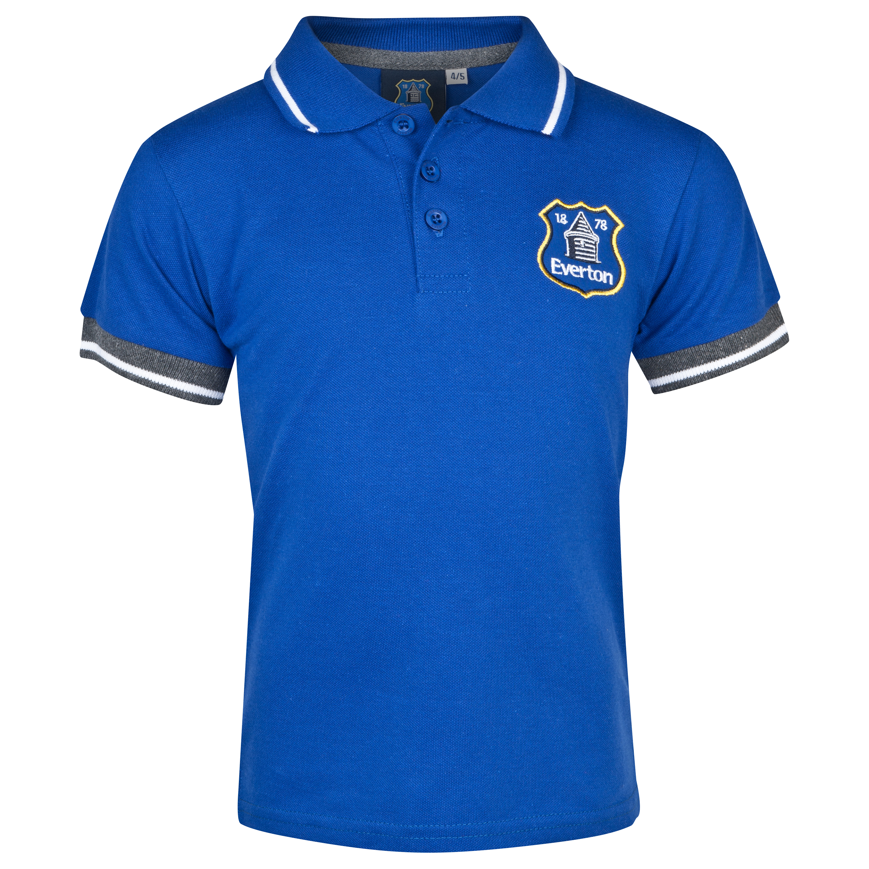 Everton Essentials Stadia Polo Shirt - Infant Boys Royal Blue