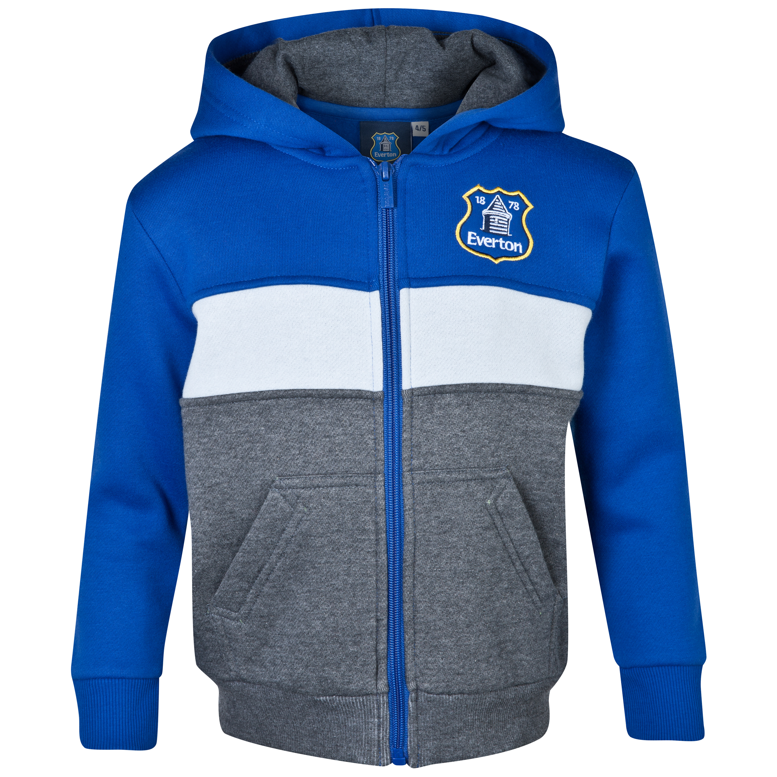Everton Essentials Blocks Hoody - Infant Boys Royal Blue