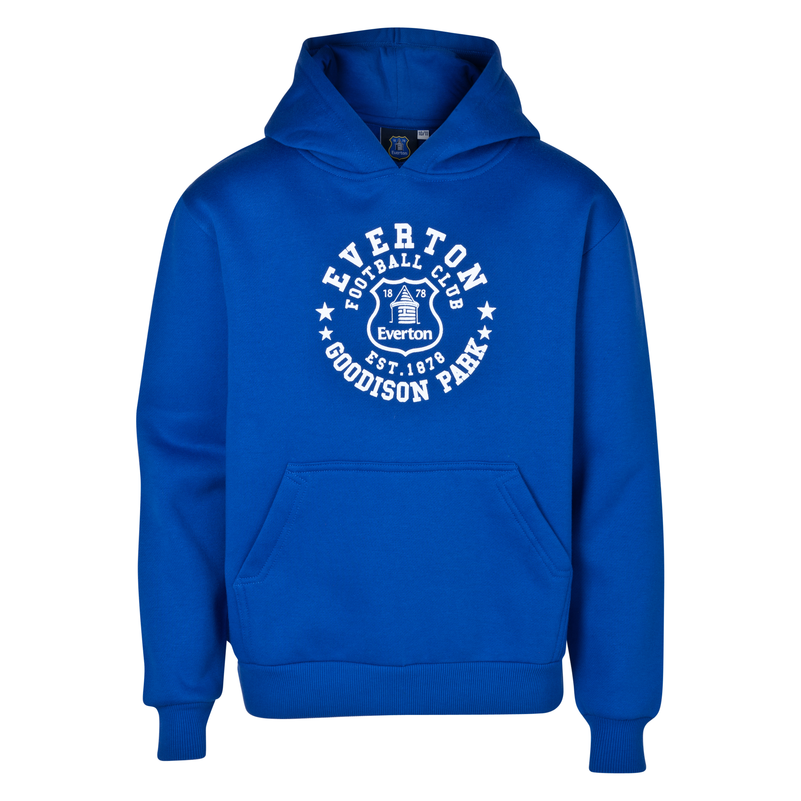 Everton Essentials Insignia Hoody - Older Boys Royal Blue